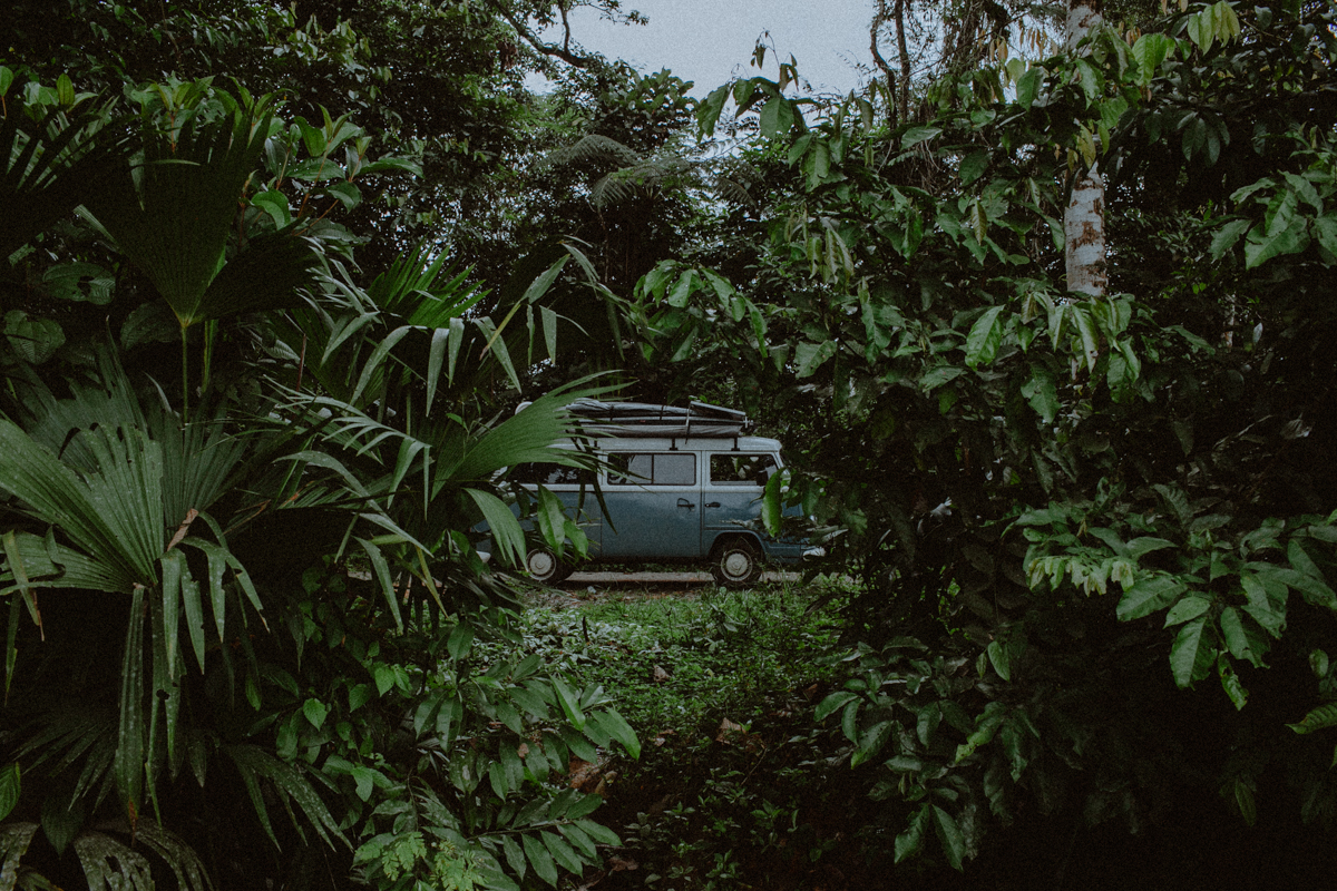 Vanlife Camping in the jungle
