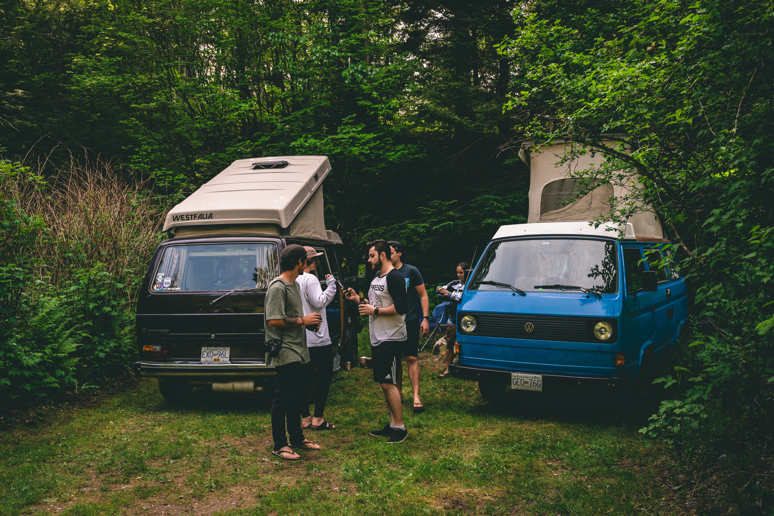 Photo by:  @alexjamesbowen  Vancouver region Vanlife Campout
