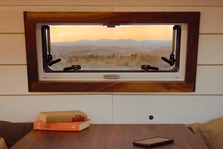 Vitruvian Van Window