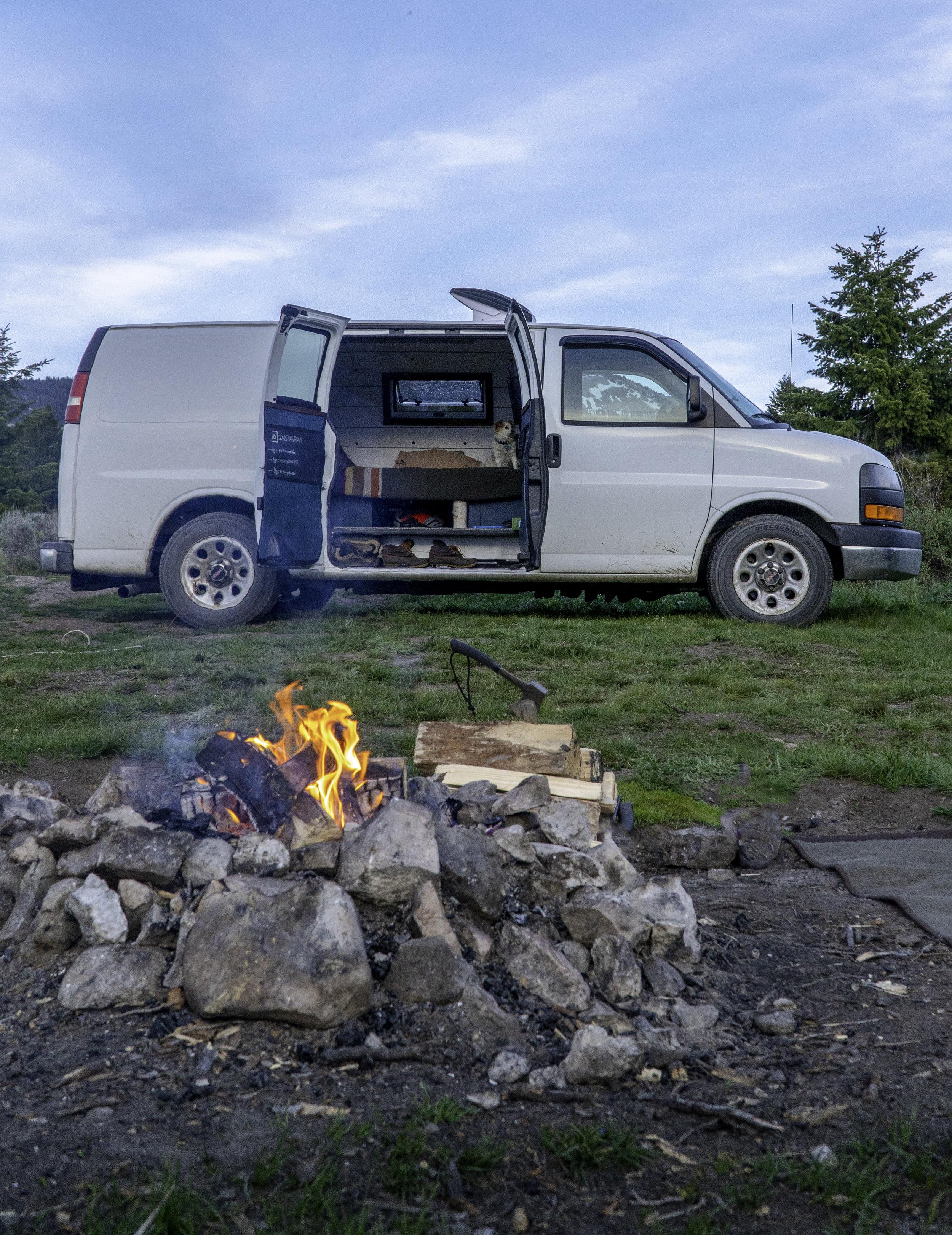Tetons Campfire
