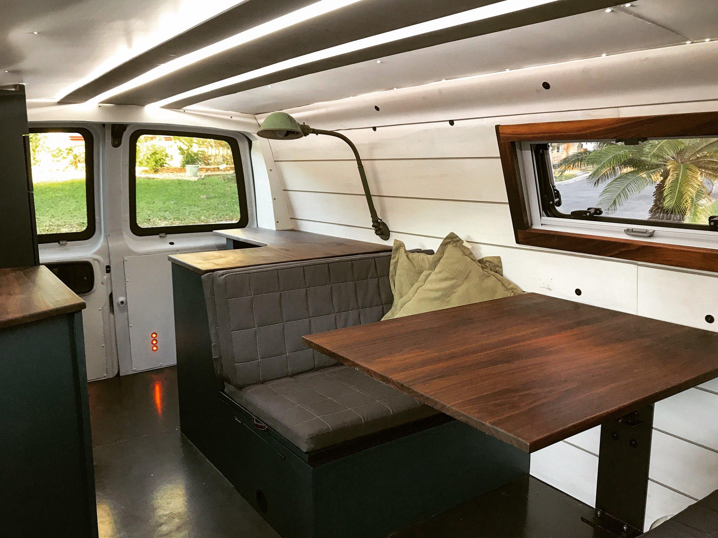 Van Interior Drivers SIde