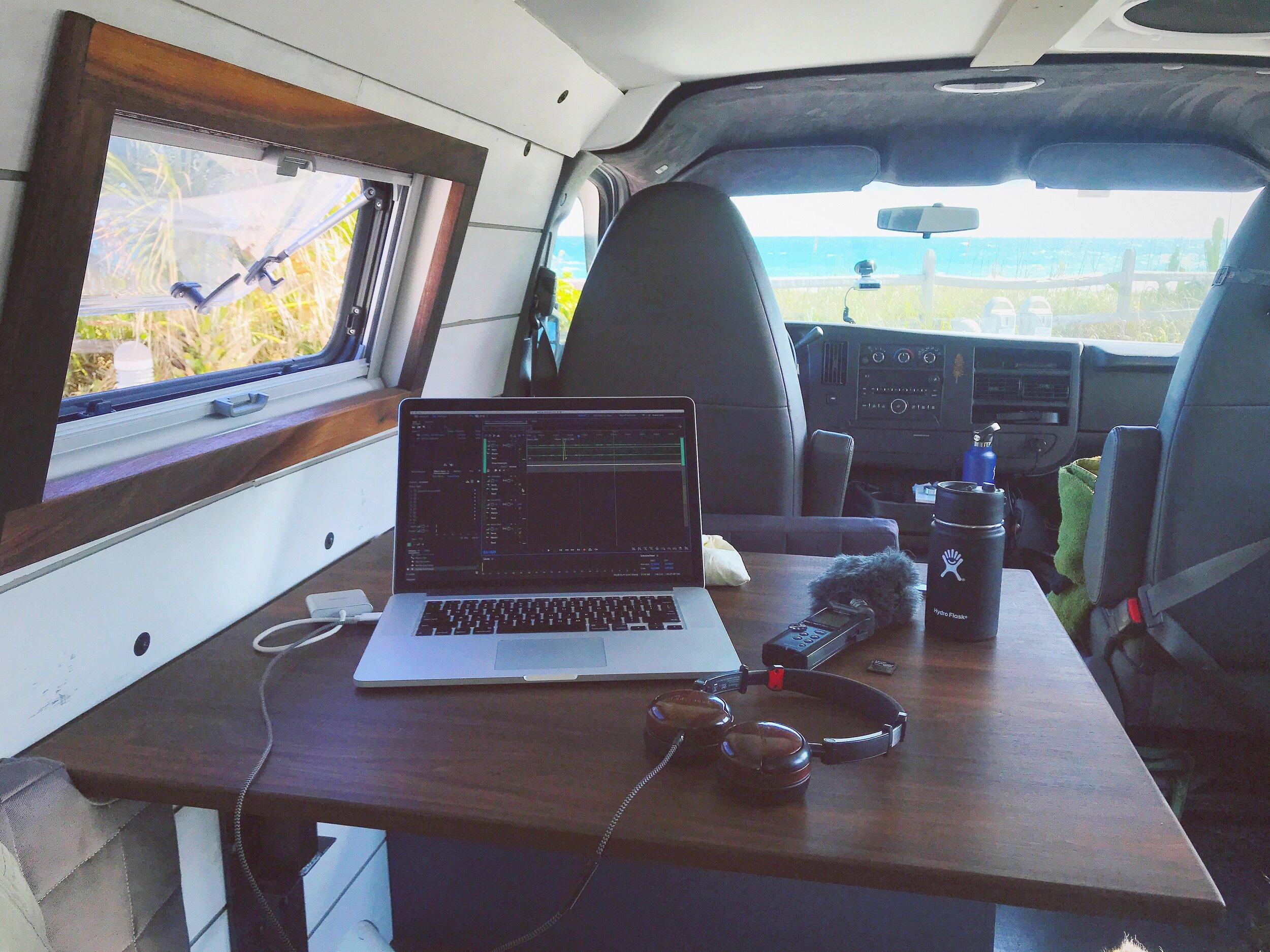 Vitruvian Van Office Setup