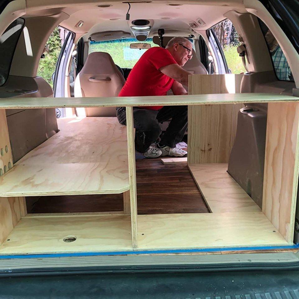 Building out a van