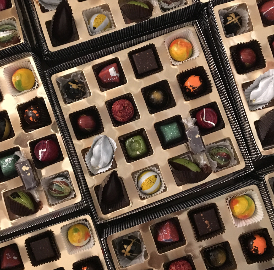full chocolate boxes