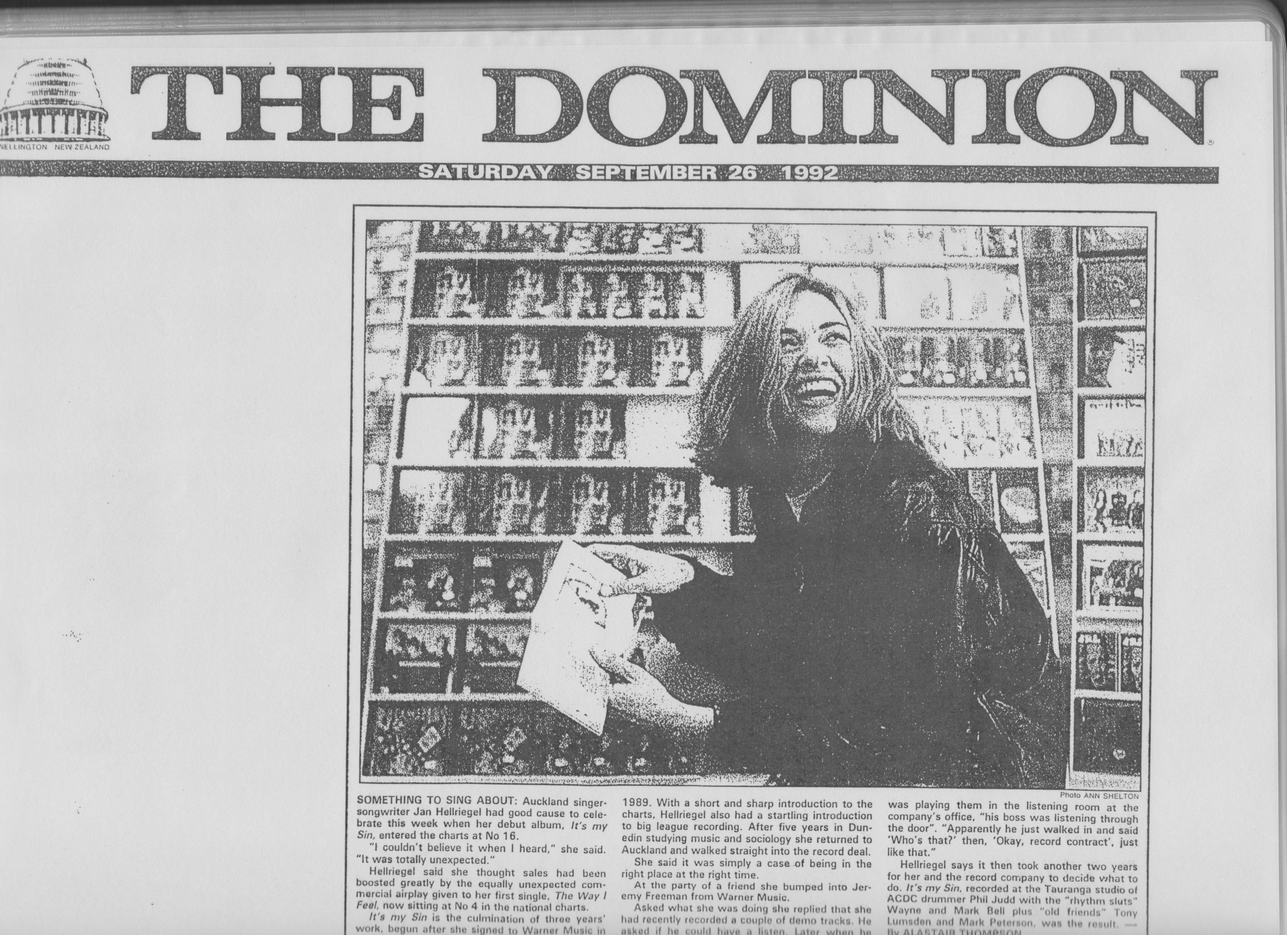 The Dominion - September 1992