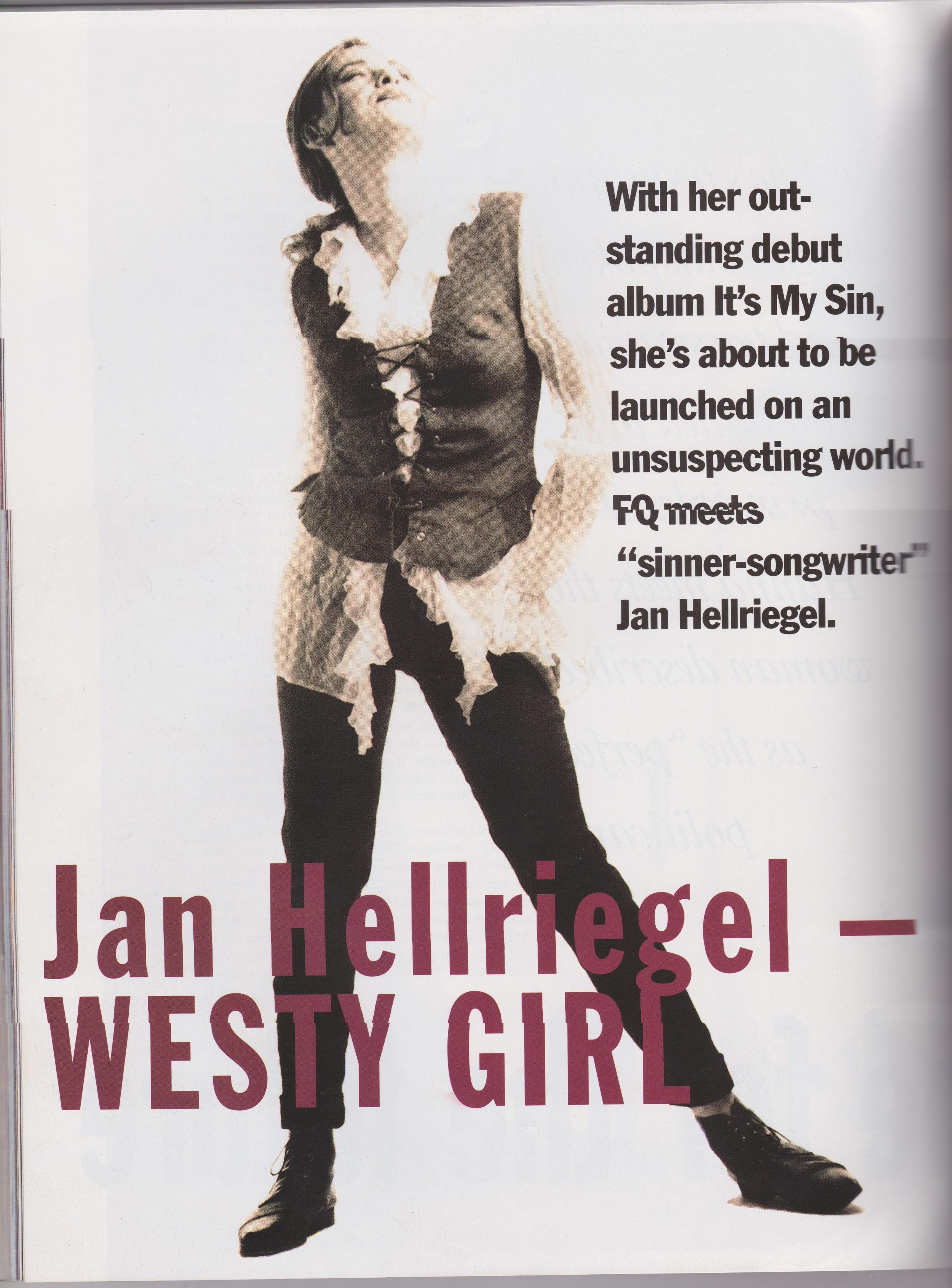 Fashion Quarterly Pg. 1 - 1992