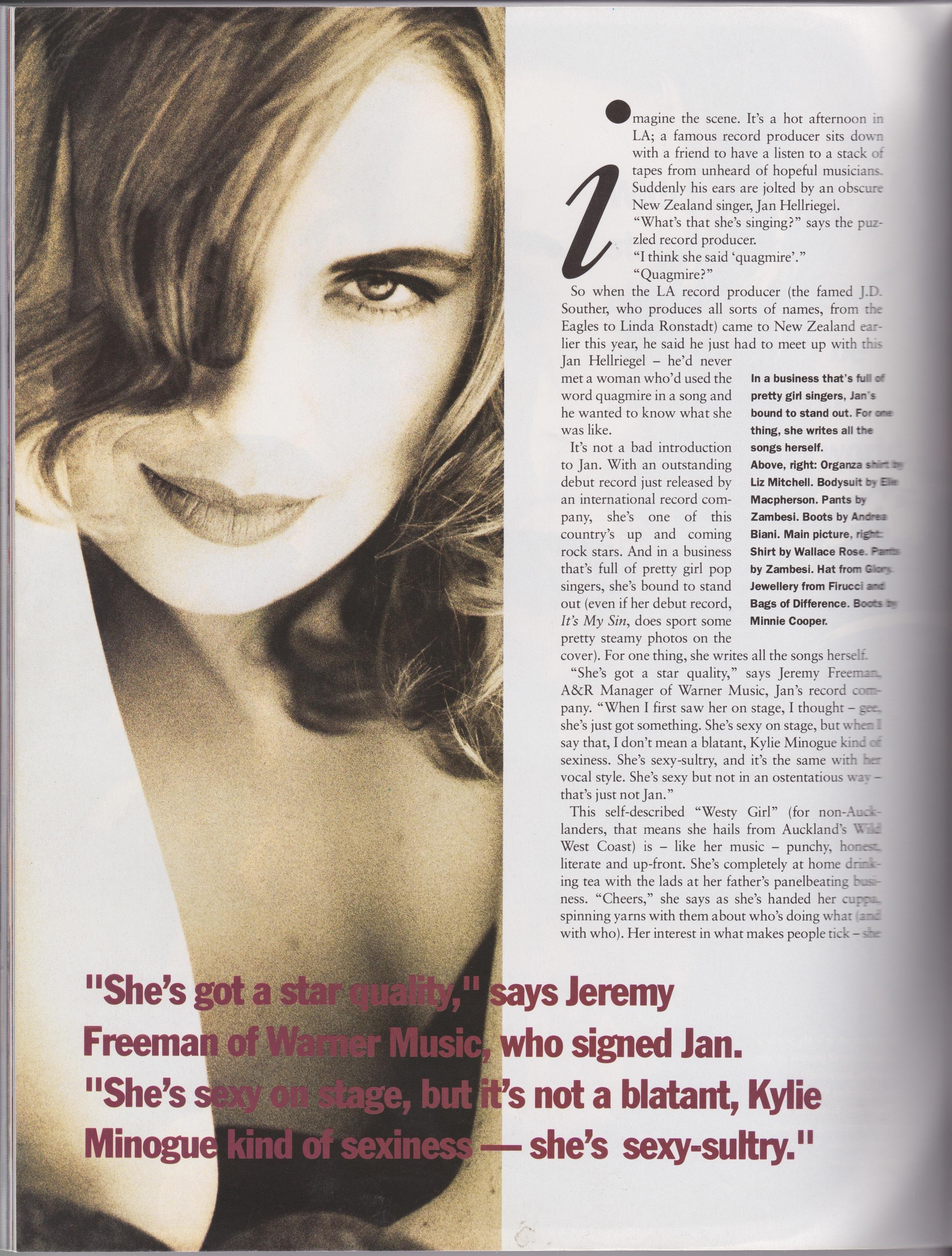 Fashion Quarterly Pg. 2 - 1992