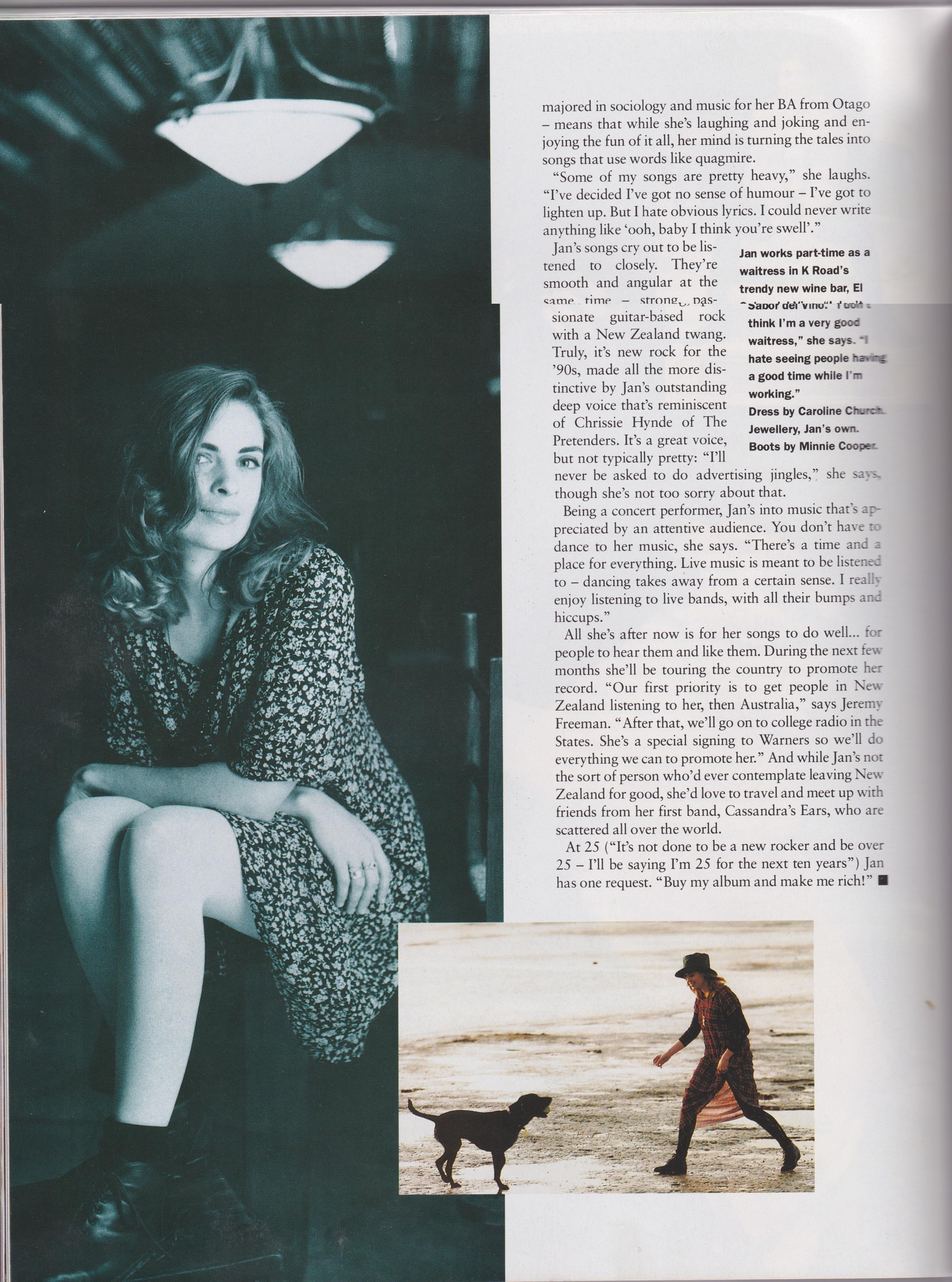 Fashion Quarterly Pg. 3 - 1992