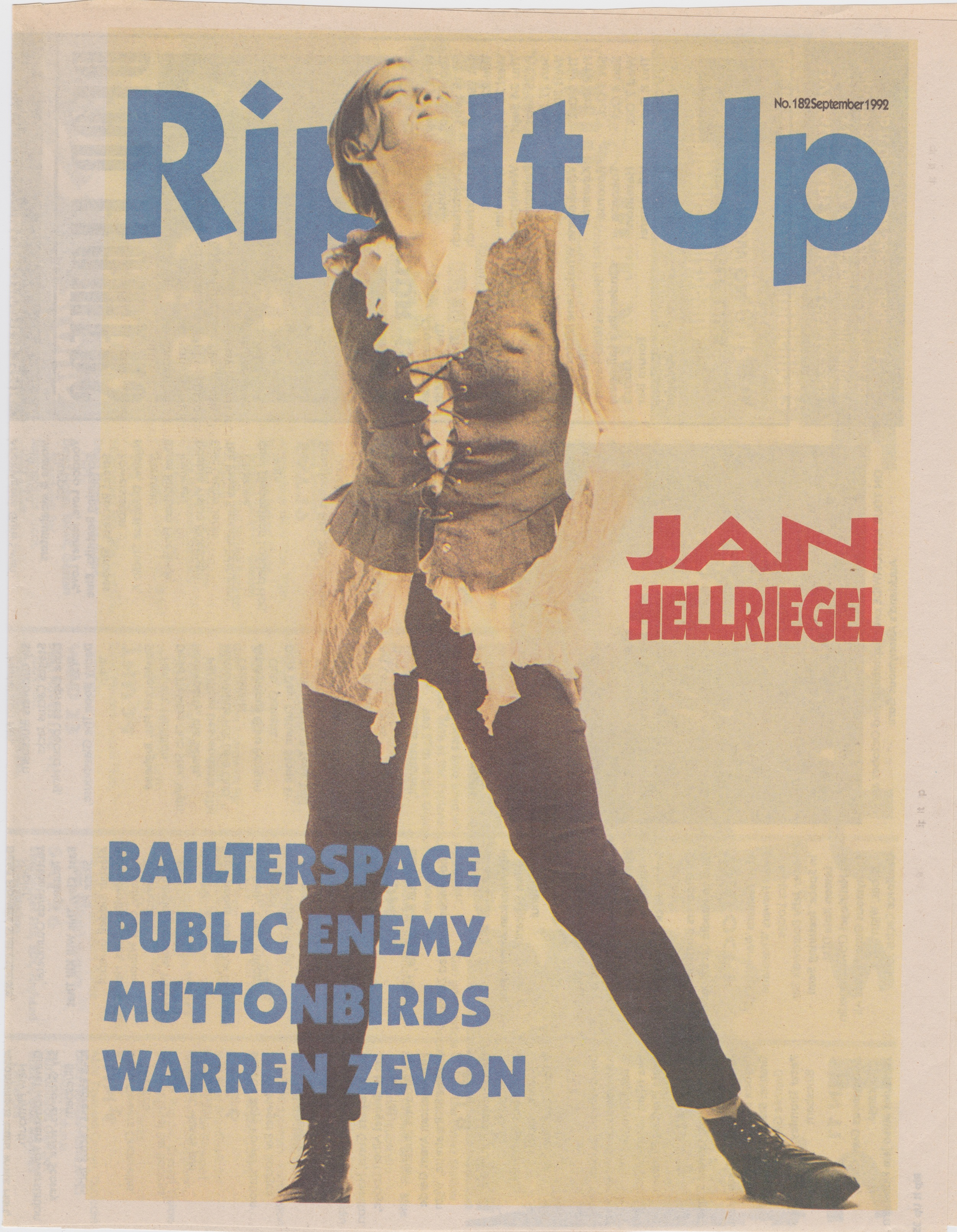 Rip It Up Cover - 1992