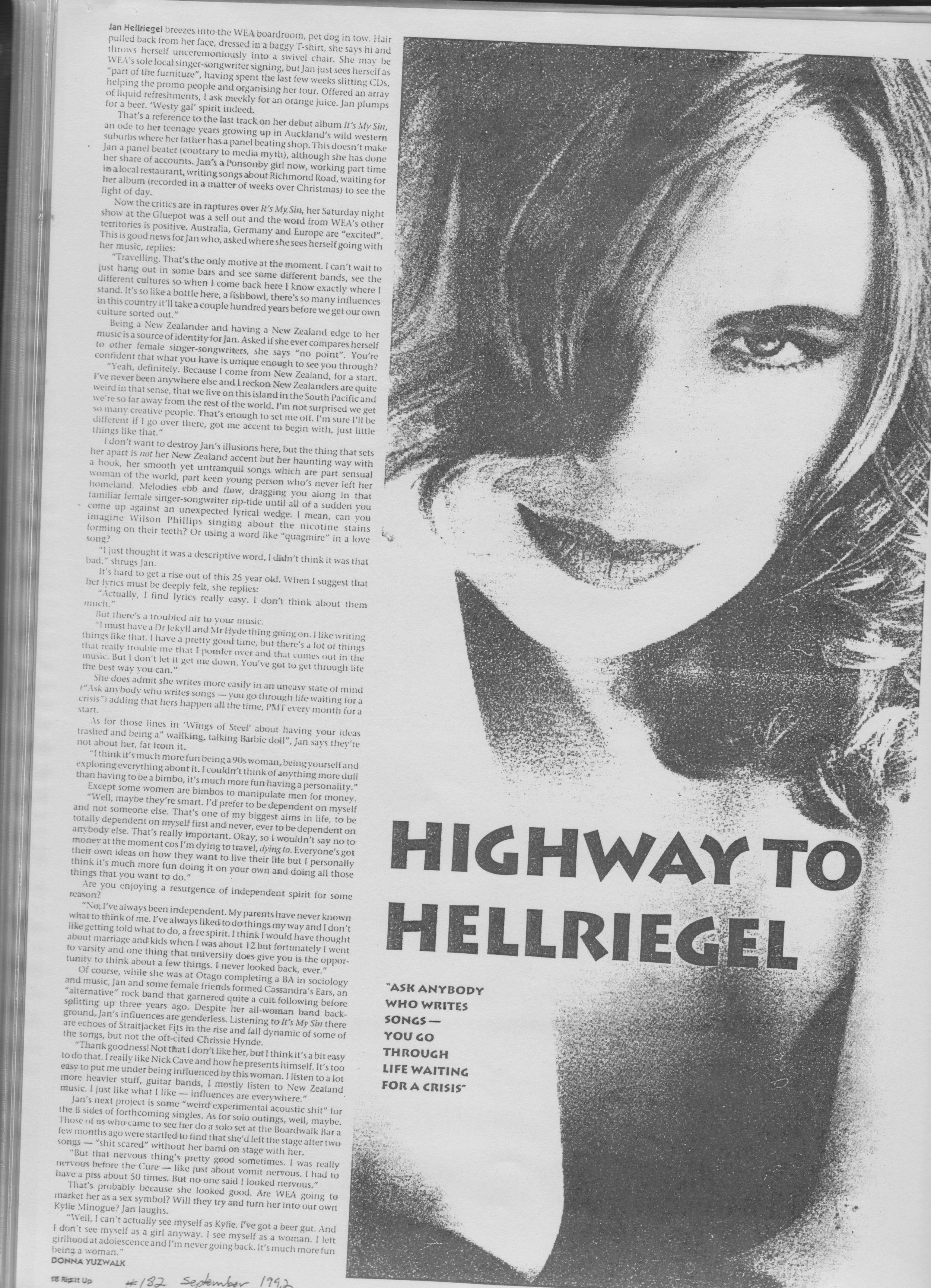 Rip It Up - September 1992