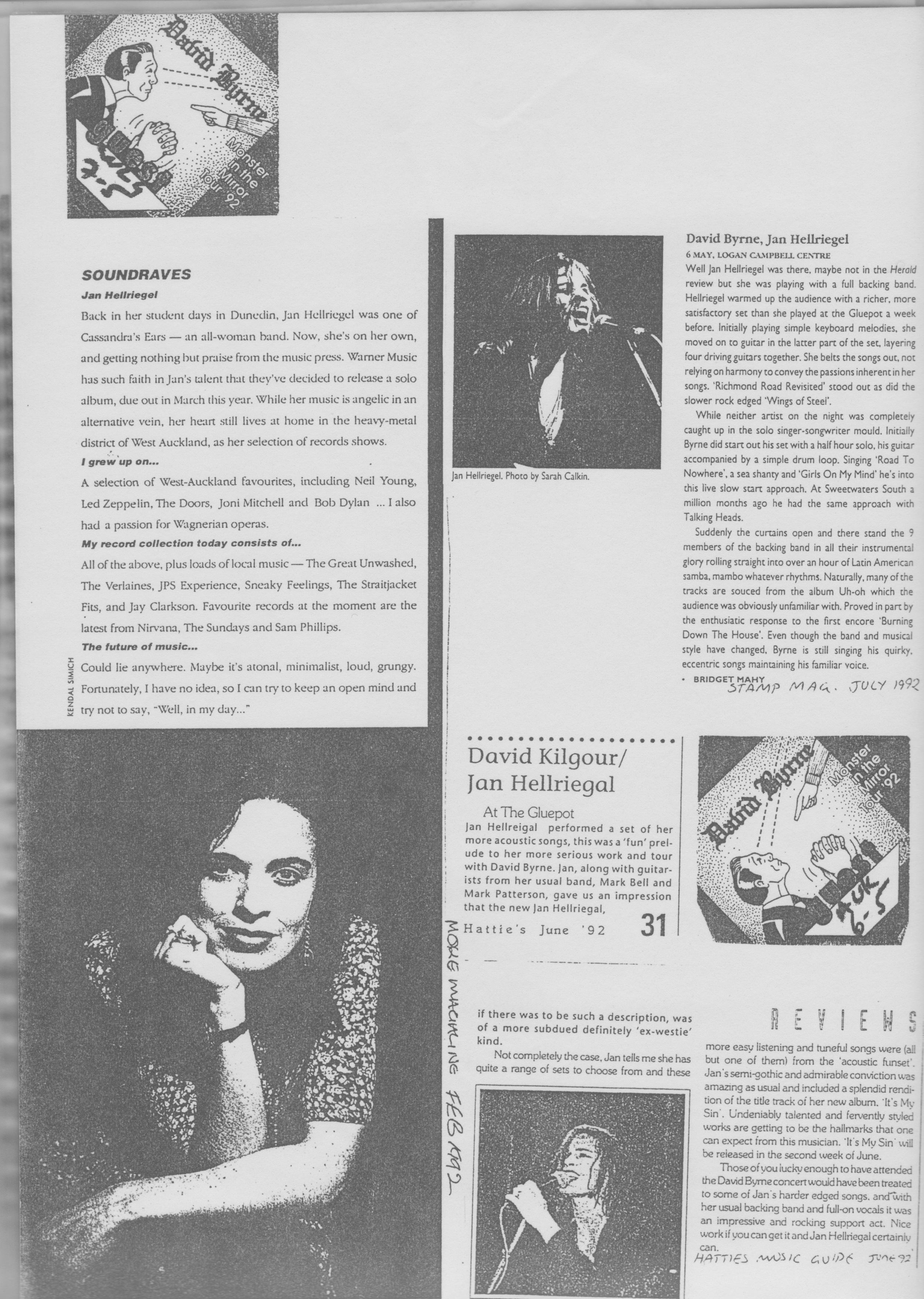 Assorted Press - 1992