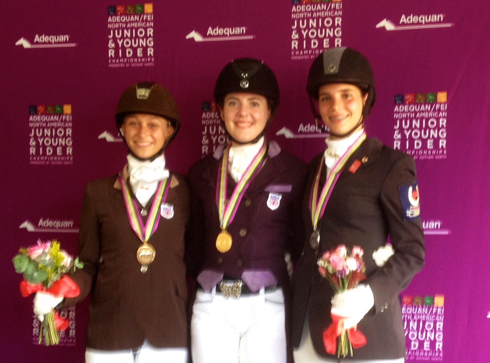 Lindsey winning Championships