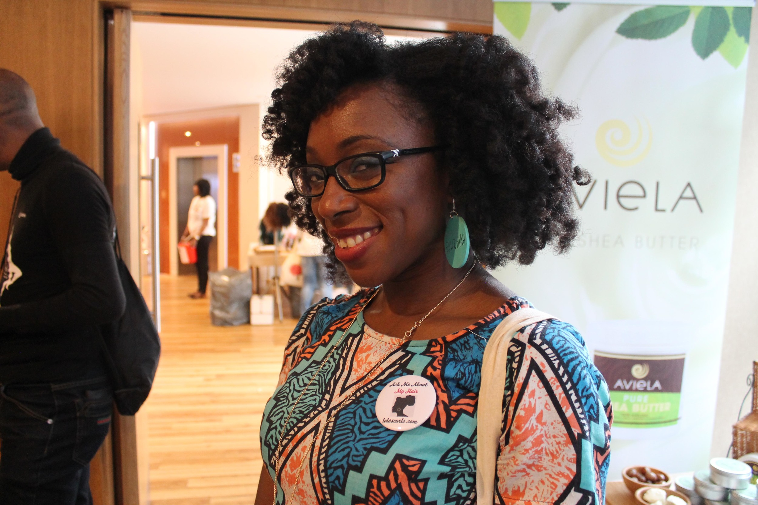 Lola Akingbola, Medical Doctor & Author Favourite thing to do with hair:Leave it alone!!