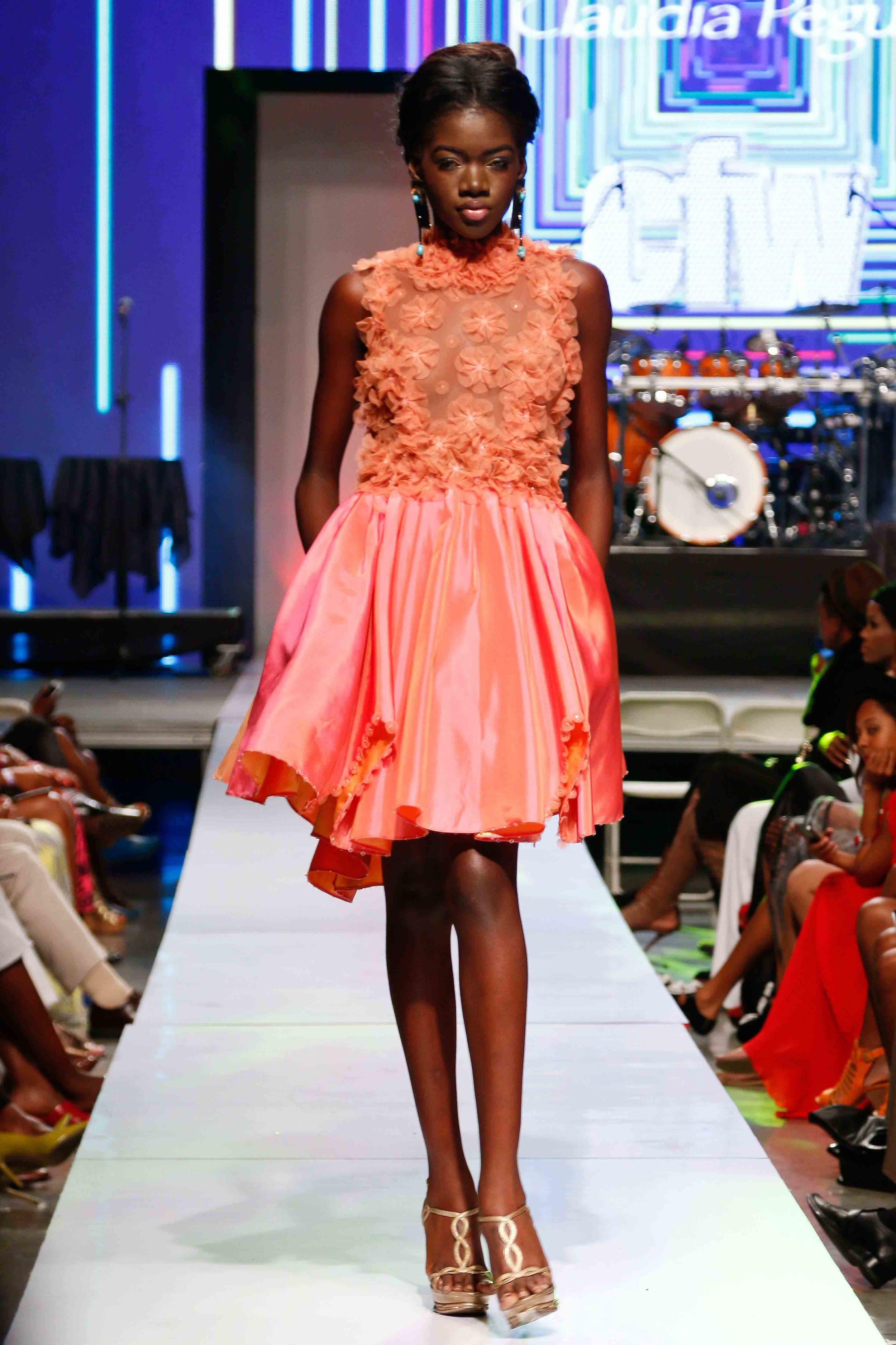 Claudia Pegasus - Caribbean Fashion Week 2015