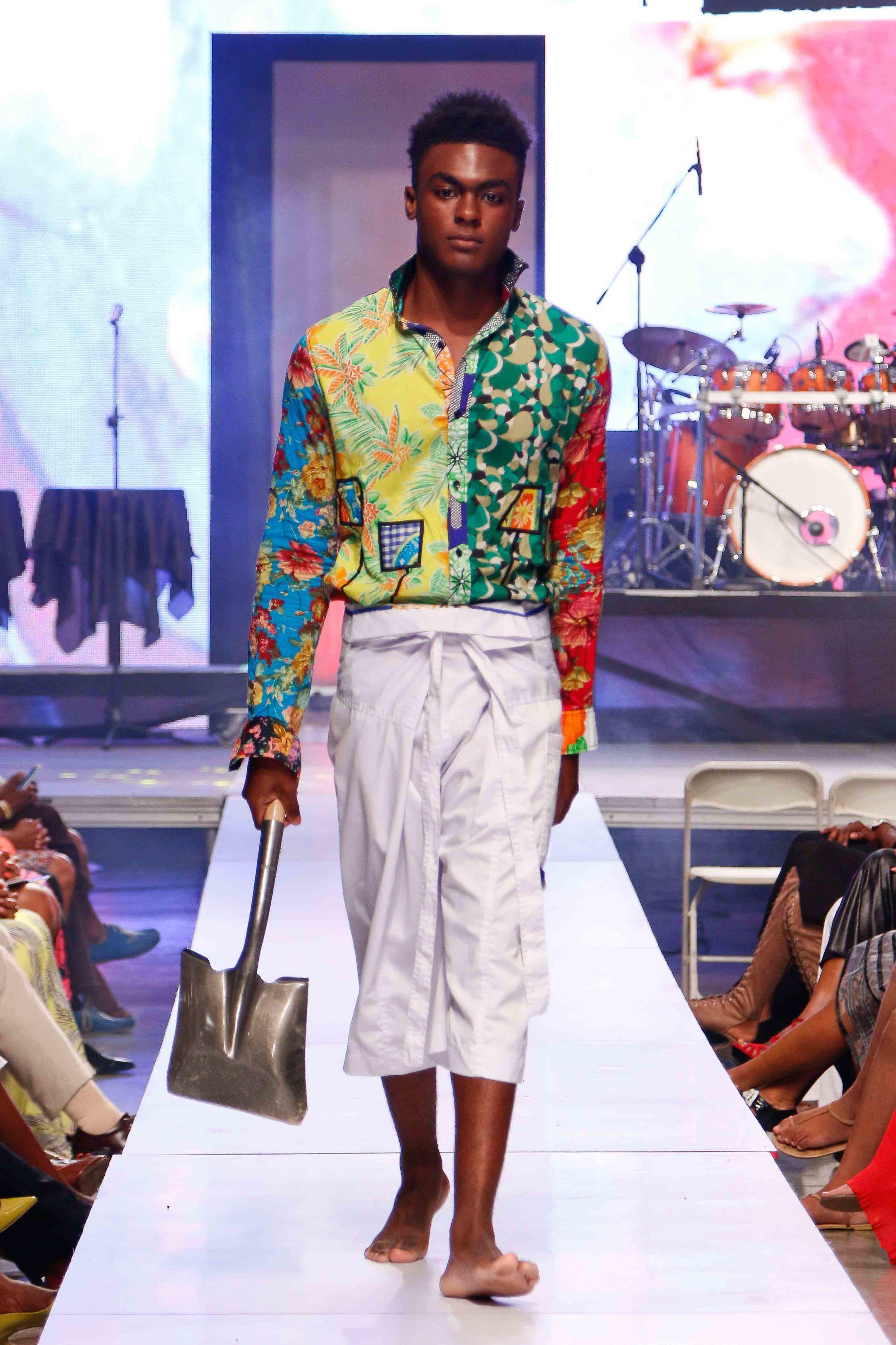 Robert Young, The Cloth - Caribbean Fashion Week 2015