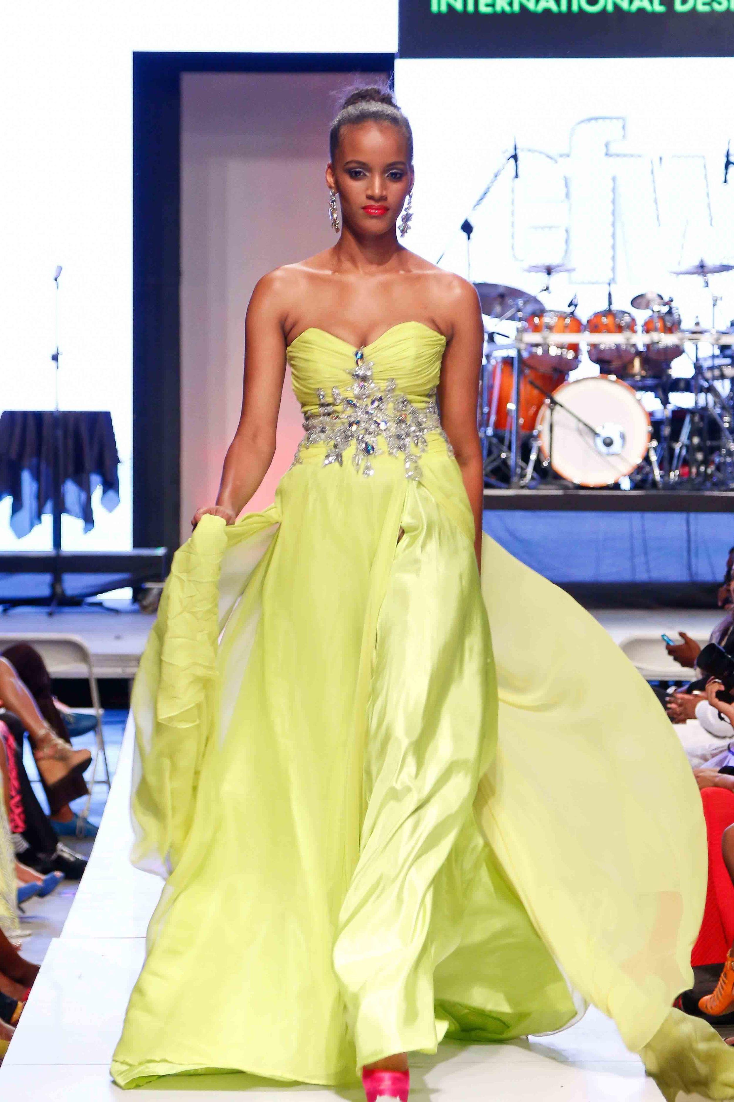 Uzuri x Sedene Blake - Caribbean Fashion Week 2015