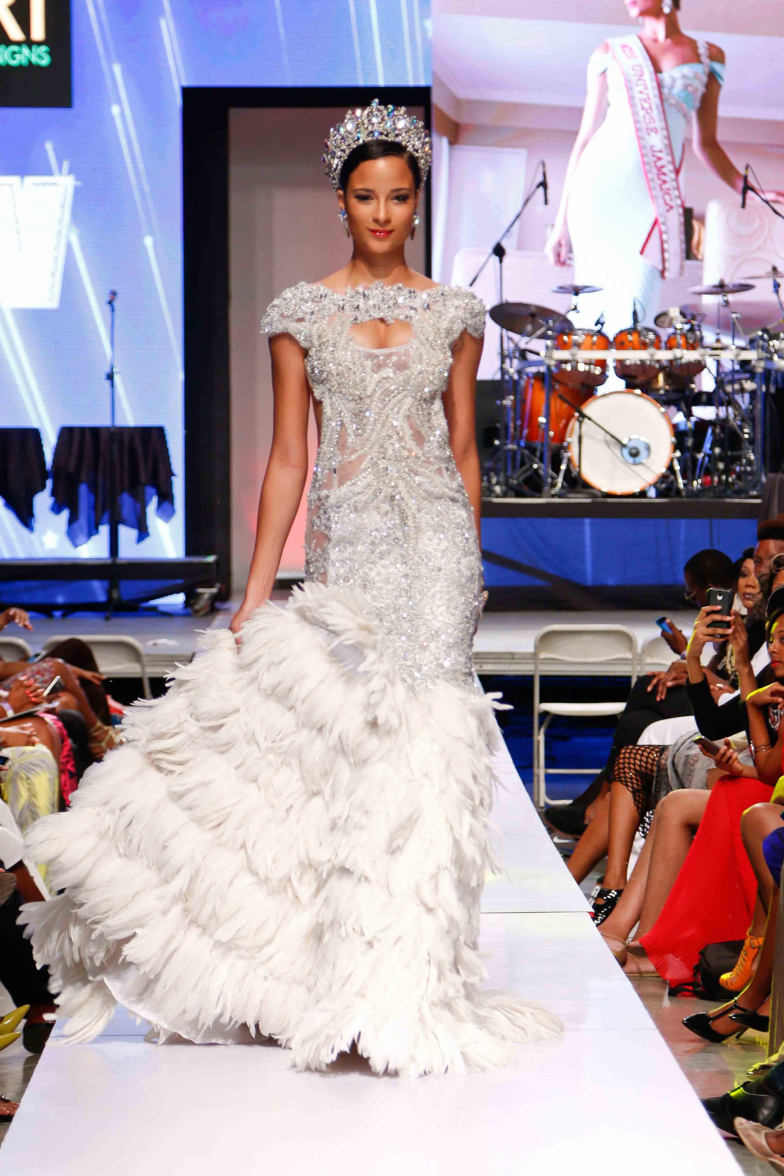 Uzuri x Kaci Fennell - Caribbean Fashion Week 2015