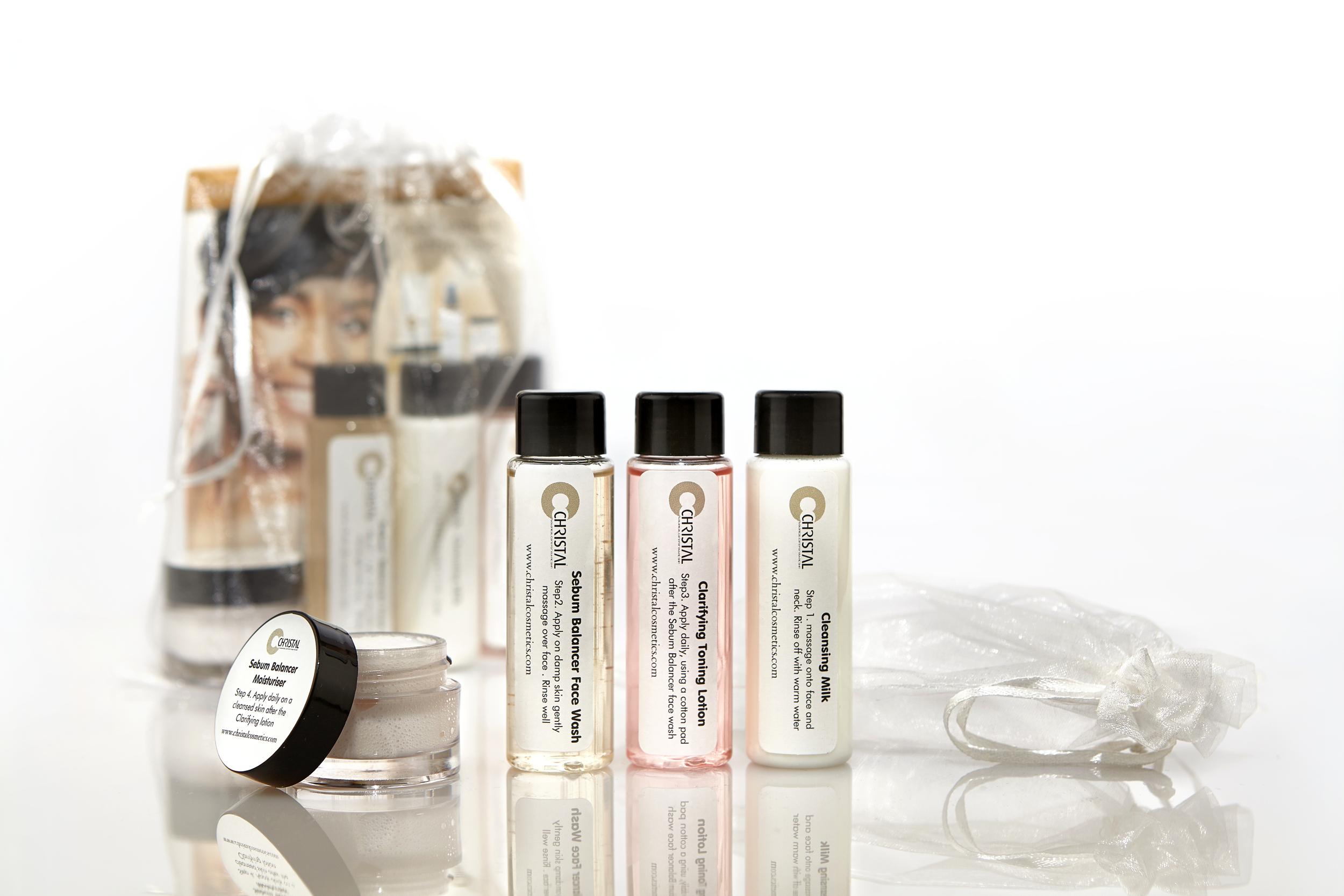 CHRISTAL Skincare Mini Trial Pack