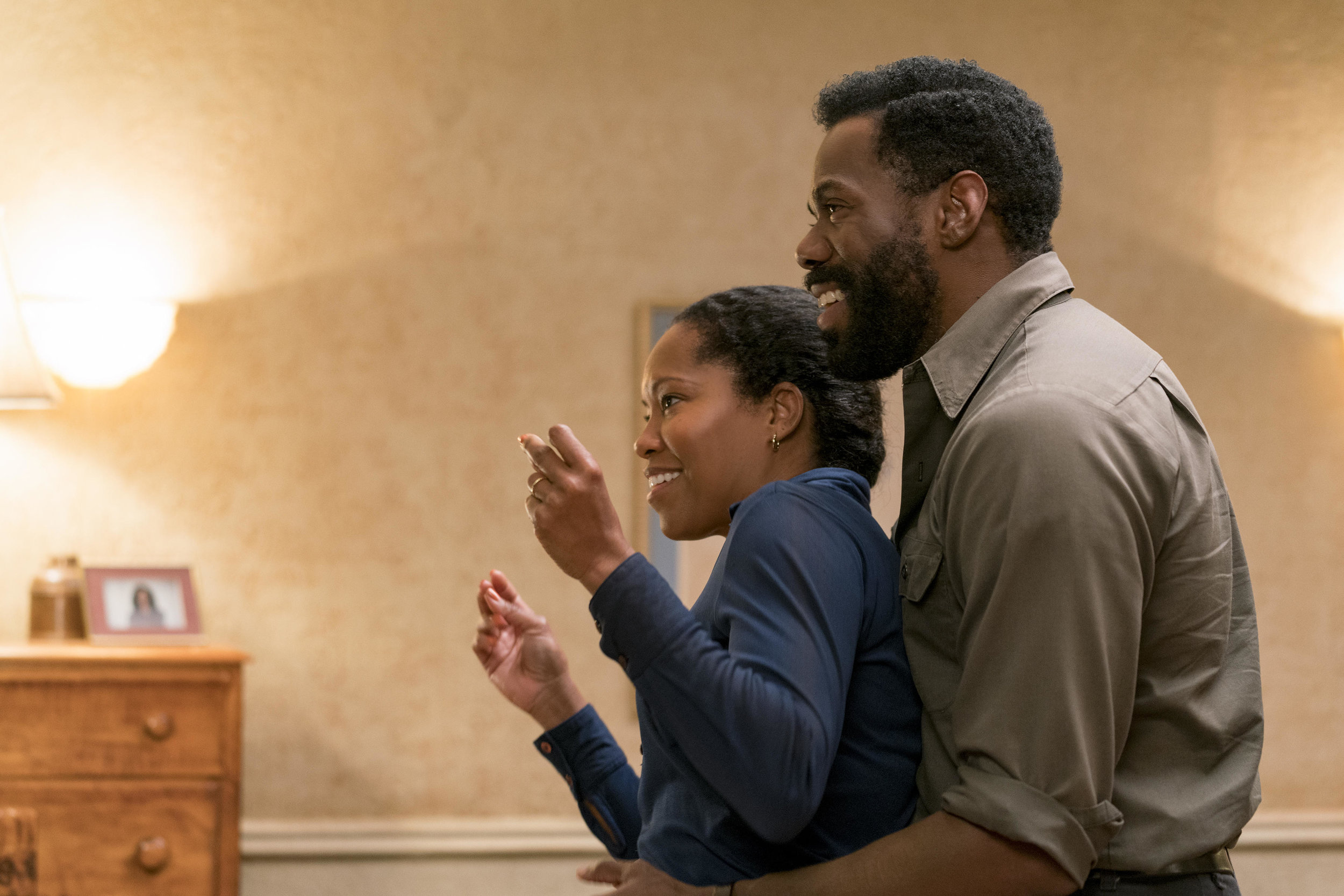 Regina King (mother) and Colman Domingo (father) in  If Beale Street Could Talk