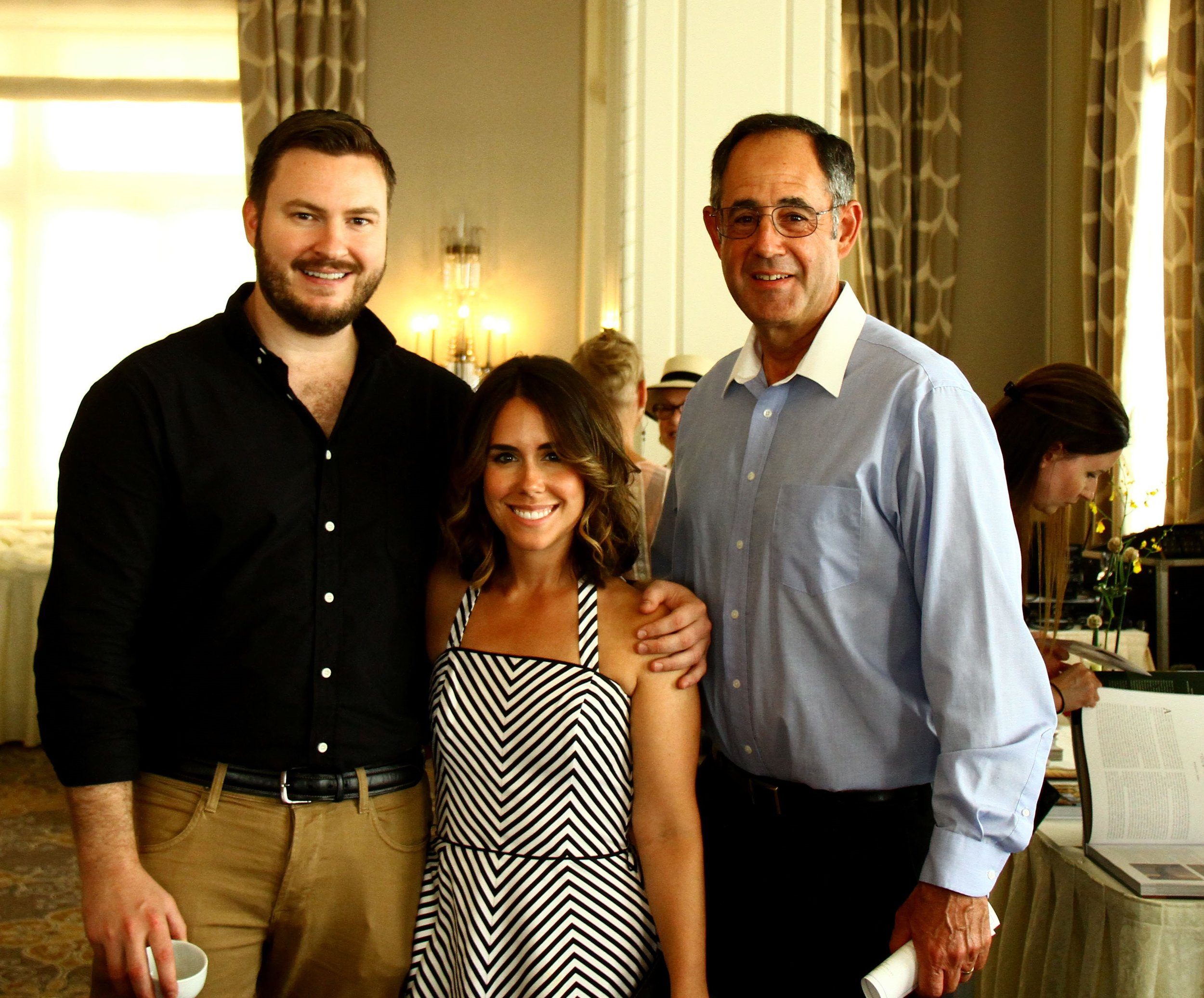 ICAA NWW Board Member, Robert Laney (left), with his fiancee Amanda Rubeck and her father, Al Rubeck.