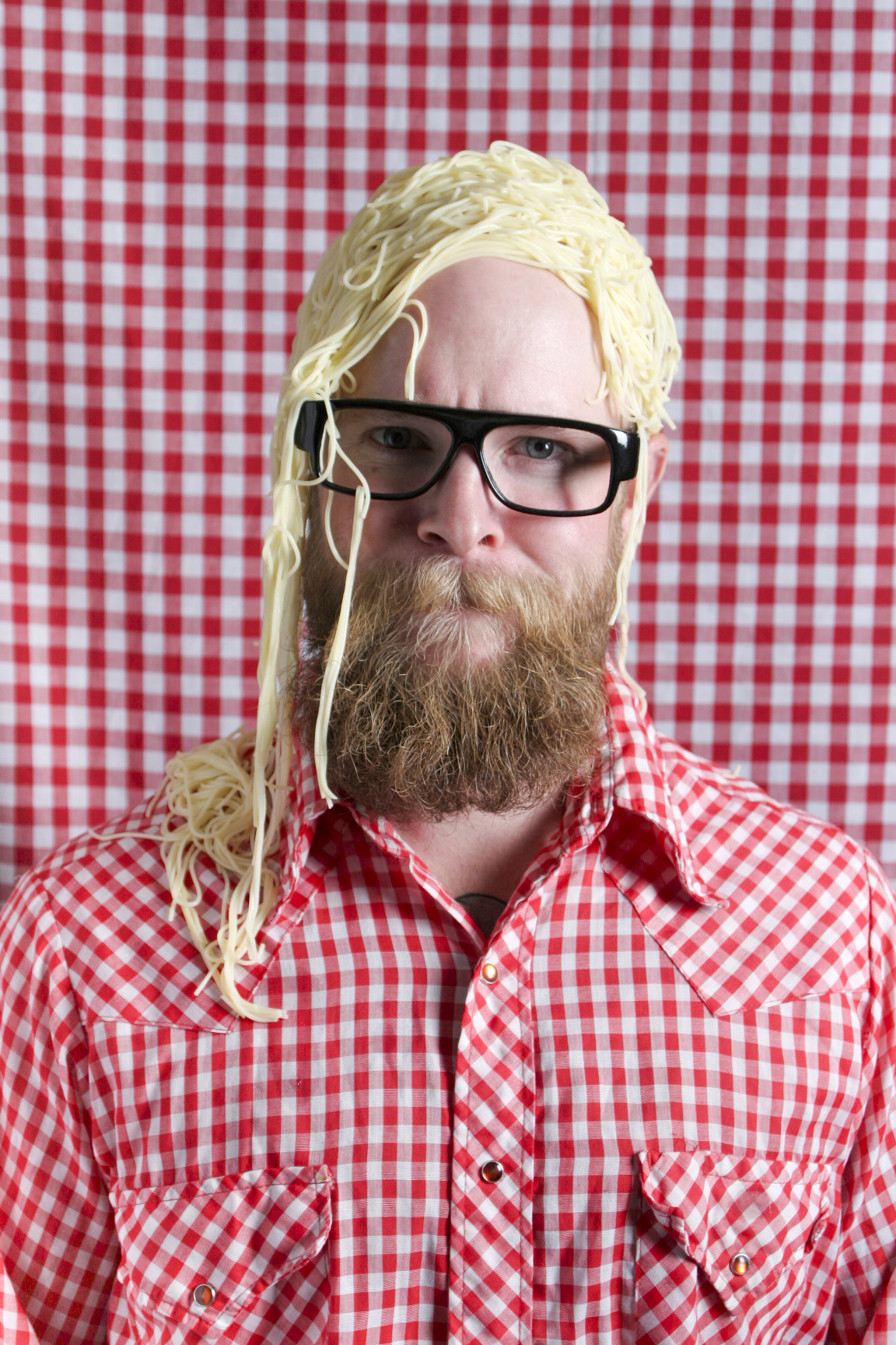 Spaghetti wig
