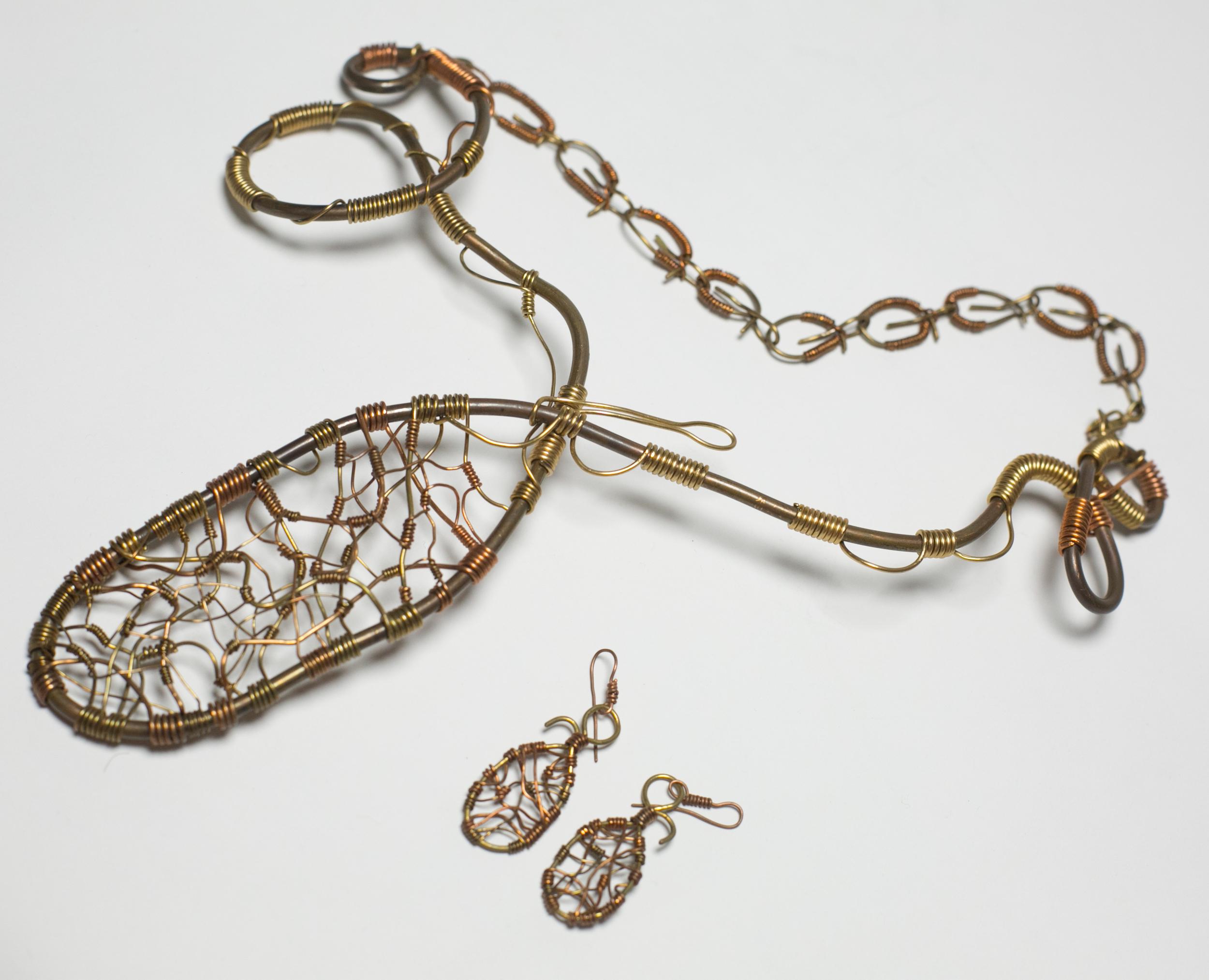Royal House of Benin Necklace Set
