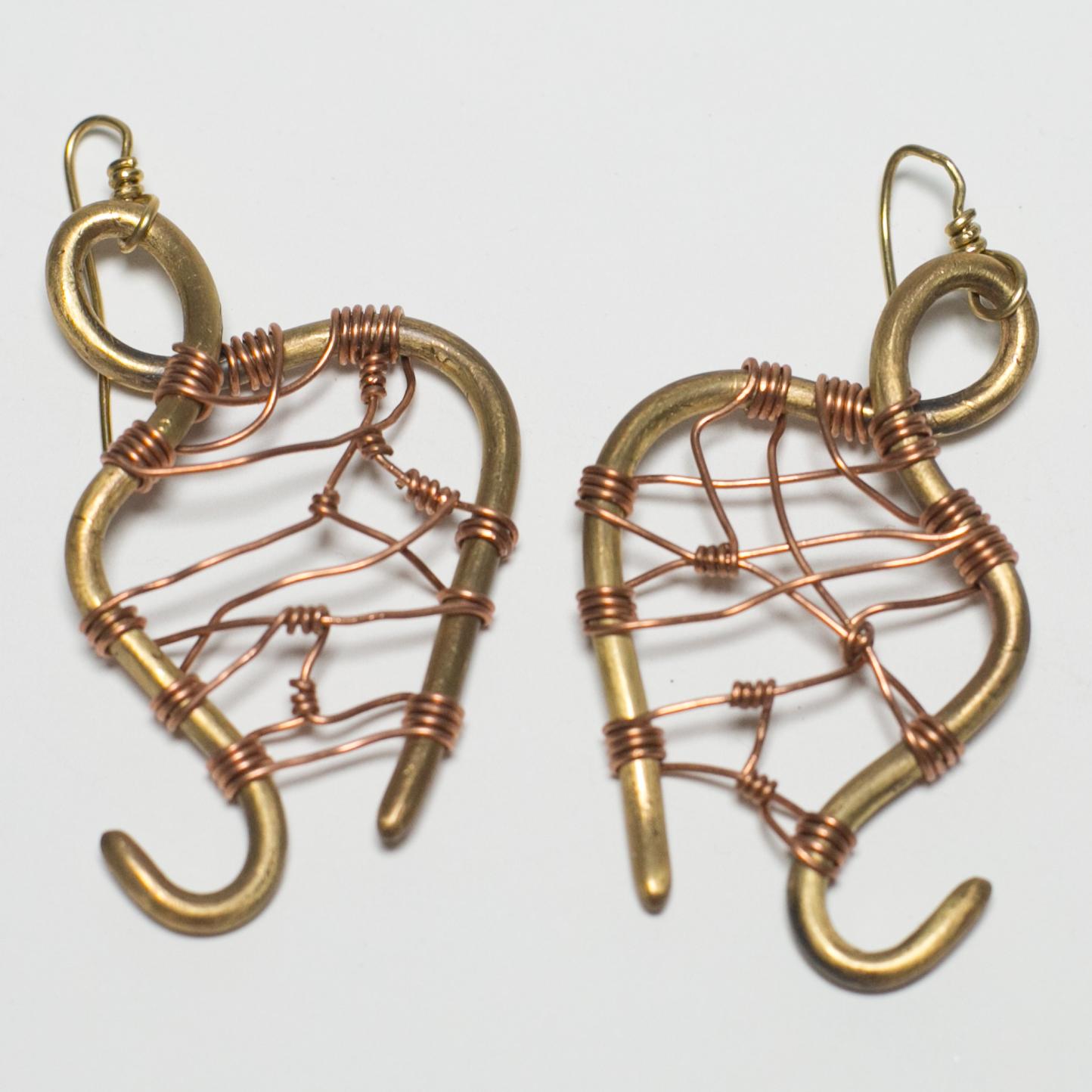 Kemet Harp Earrings