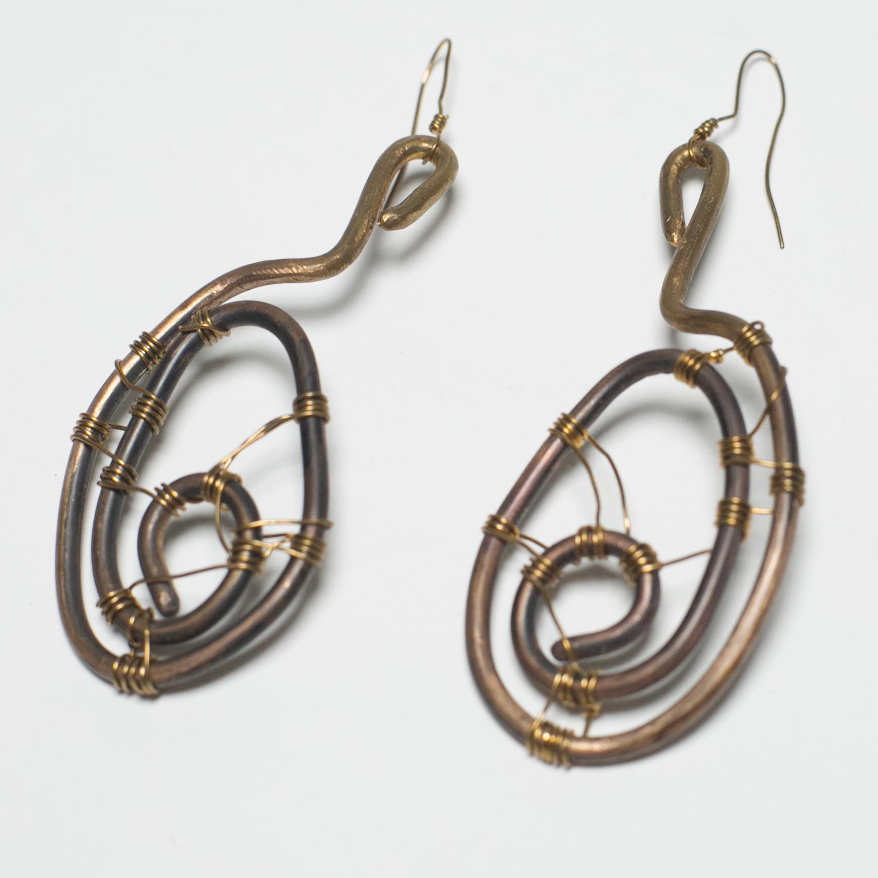 Benin Warrior Earrings