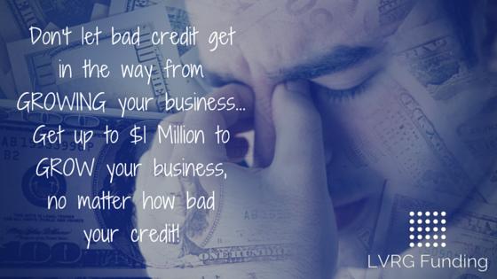 Bad Credit Business Loans Poor Credit Cash Advance
