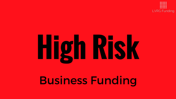 High Risk Small Business Funding - High Risk Business Cash Advance