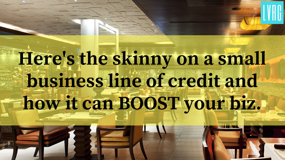 Here's the skinny on a business line of credit and 3 funding options to BOOST your small biz.
