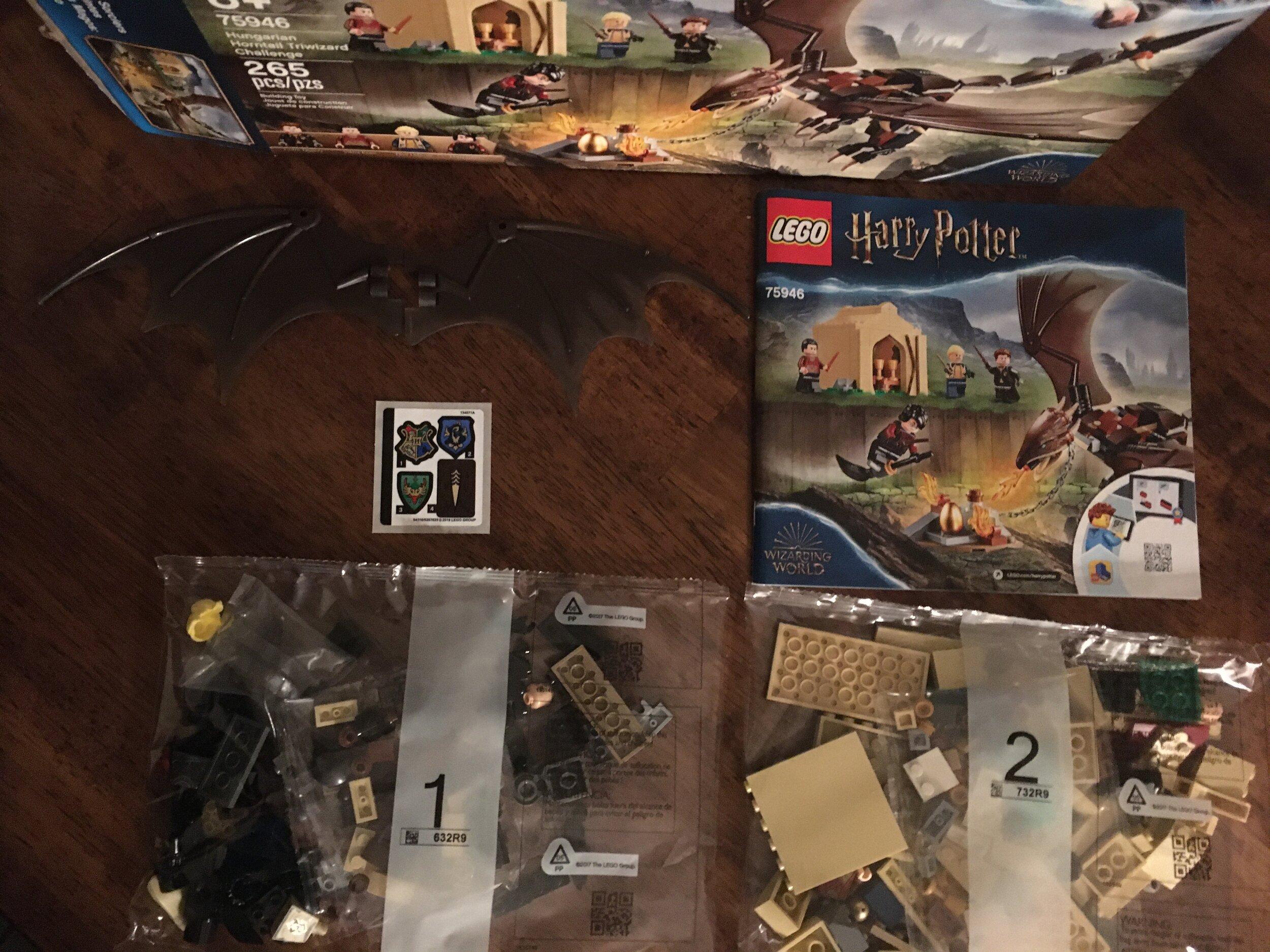 Lego Micro Figur aus Harry Potter 75 #