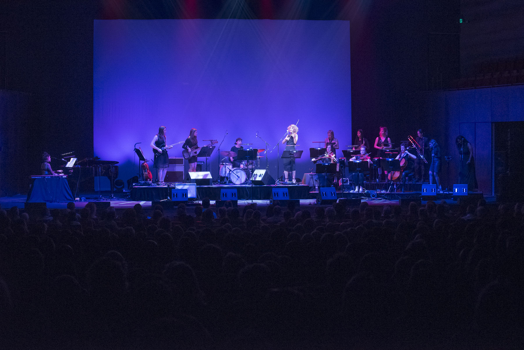 SPIRE - Stand By Your Woman concert Melbourne Arts Centre - photo Andrius Lipsys
