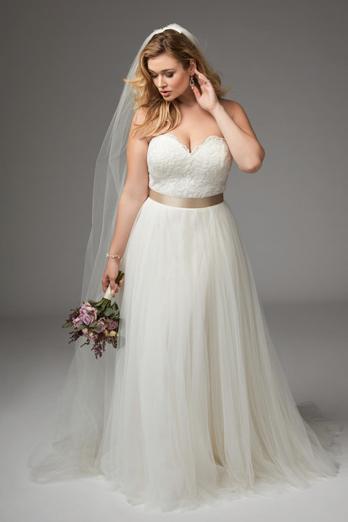 Atlanta Plus Size Wedding Dress Gallery — Ivory Bridal