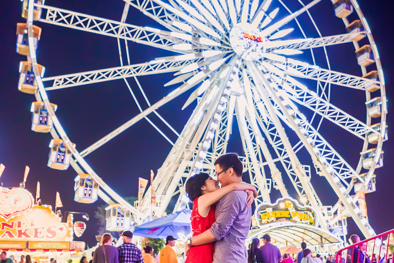 Topsfield Fair Engagement Photography   Boston Engagement Photographer   Stephen Grant Photography