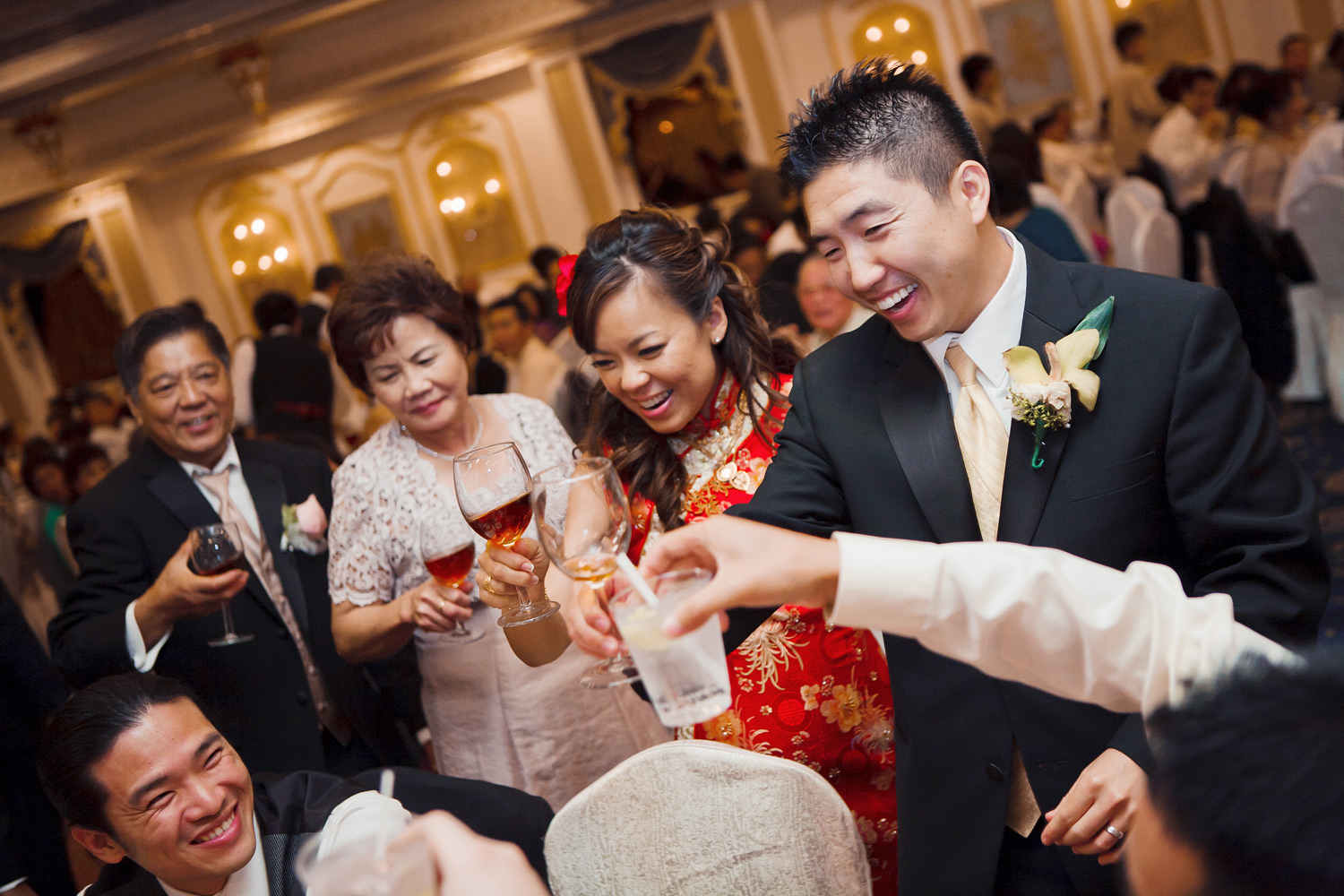 Capital Seafood Restaurant Monterey Park Wedding | Stephen Grant Photography