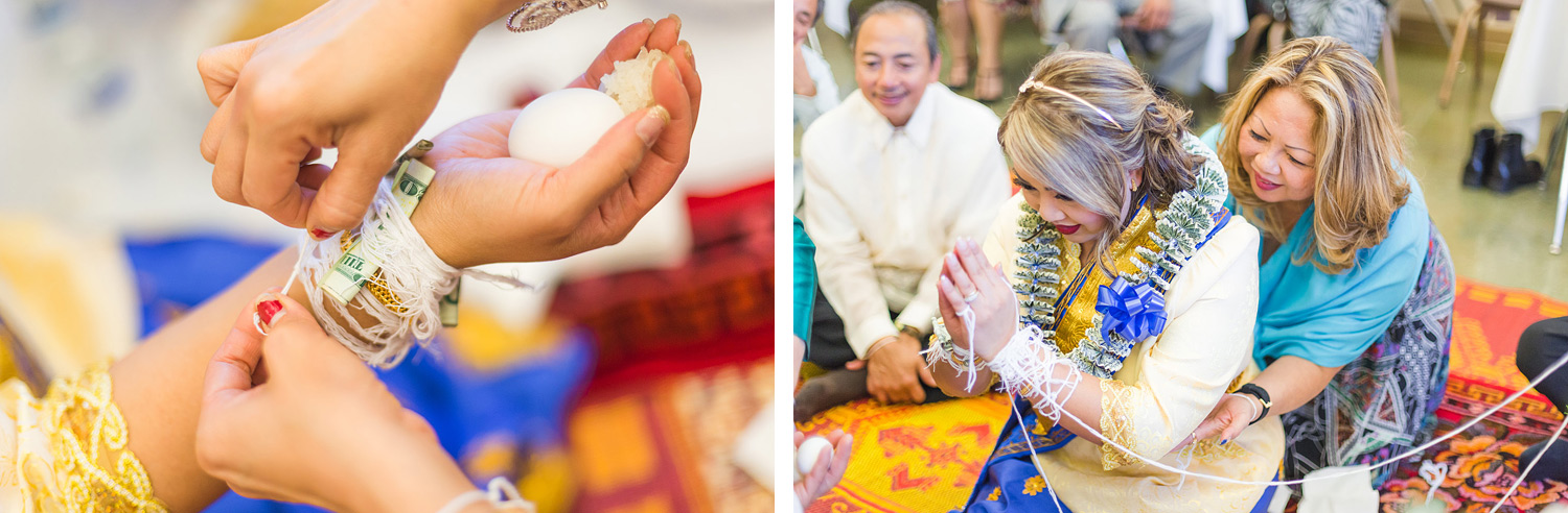 South Natomas Community Center Laos Wedding | Stephen Grant Photography