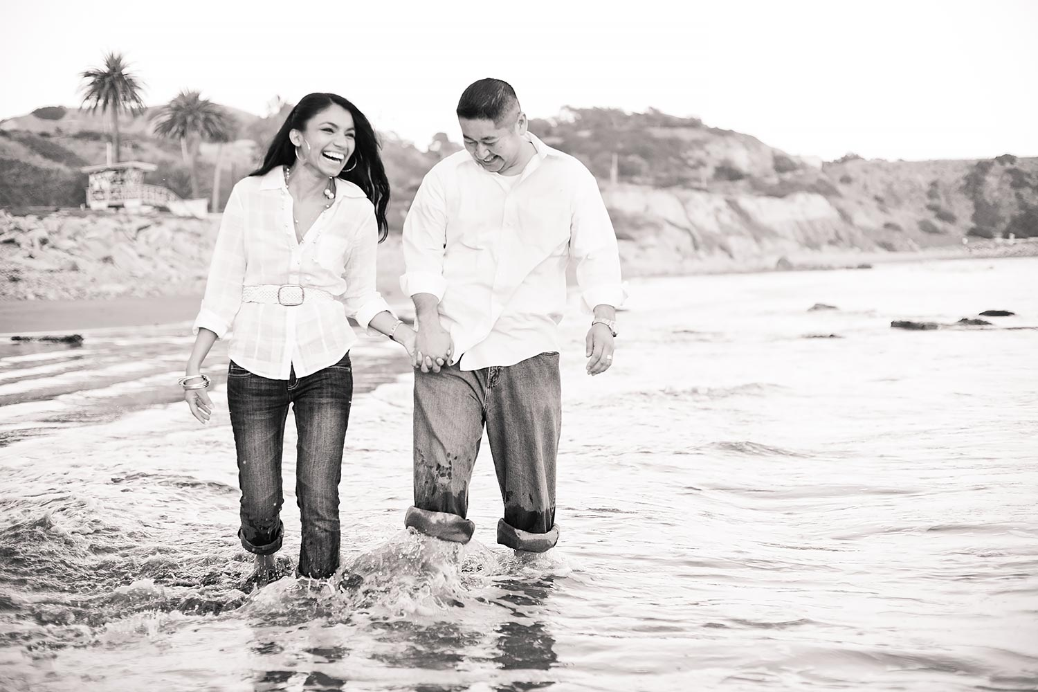 Abalone Cove Engagement   Stephen Grant Photography