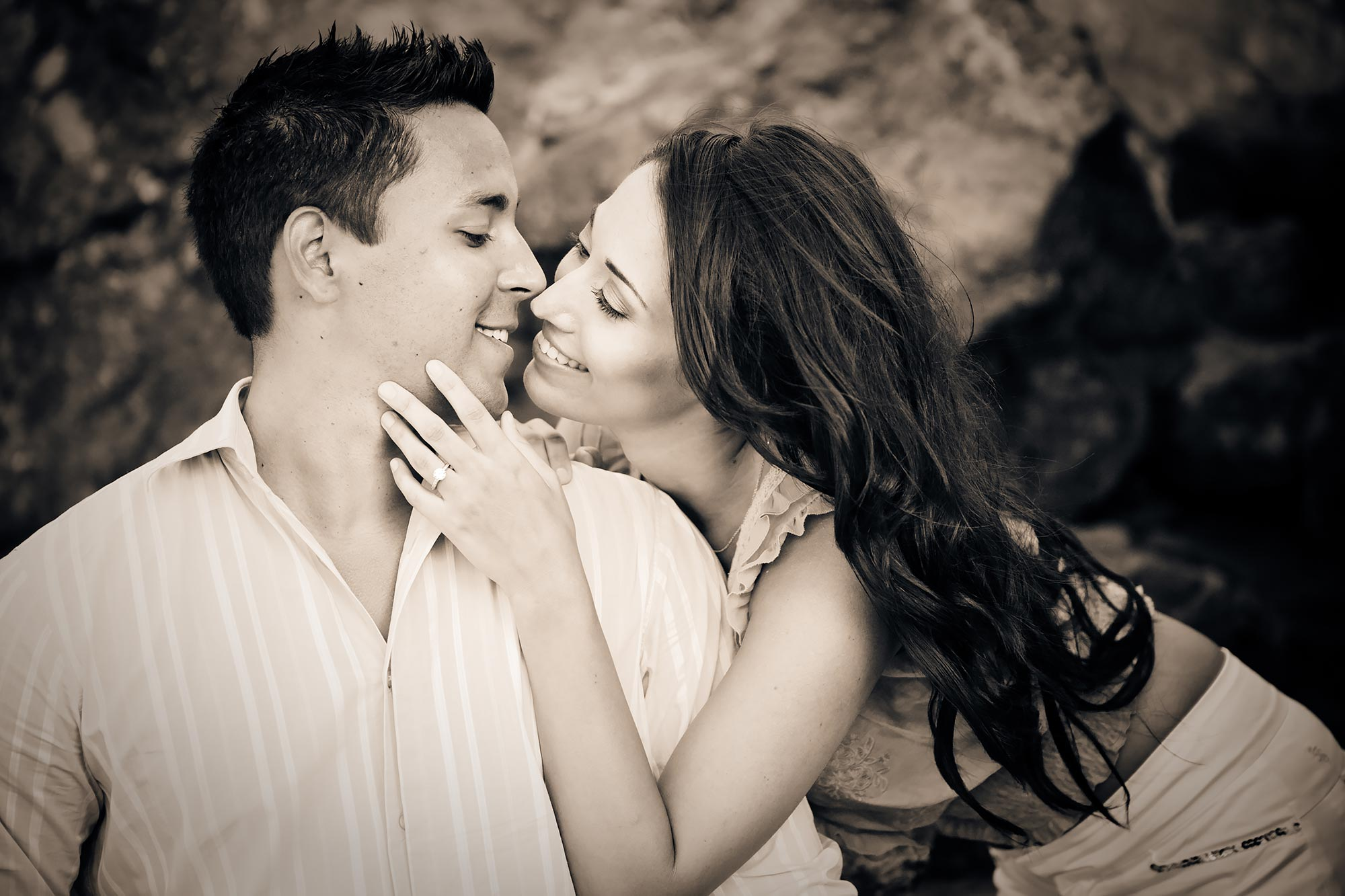 Point Dume Engagement | Stephen Grant Photography