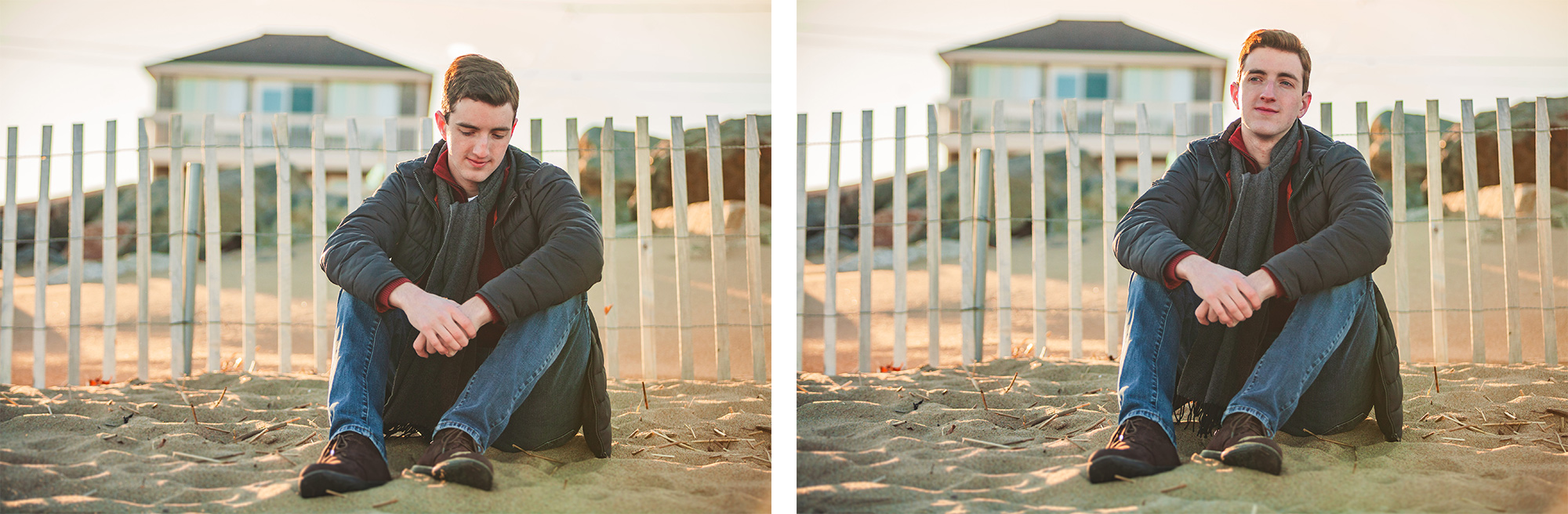 New England Beach Senior Portrait Photographer | Stephen Grant Photography