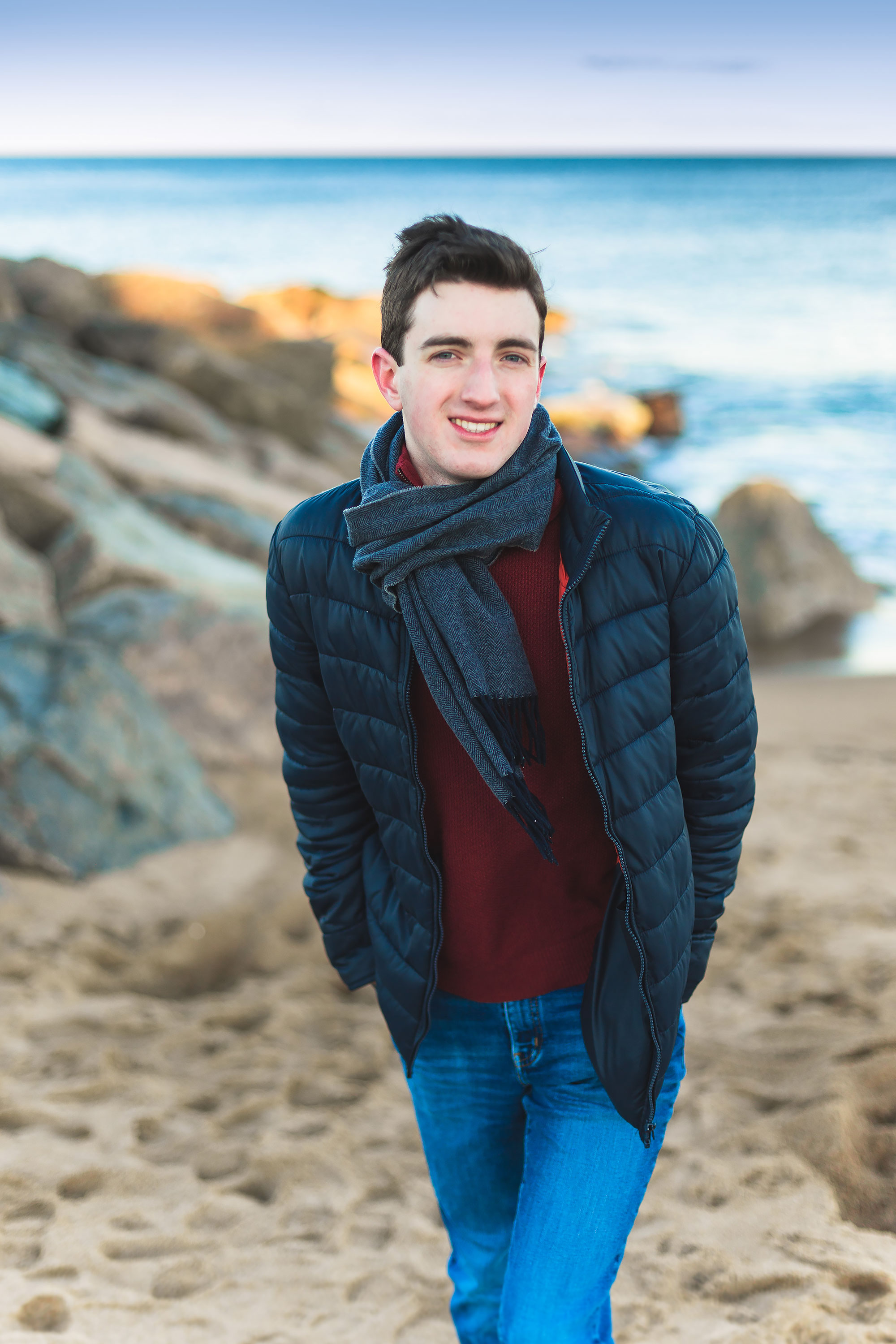 Plum Island Senior Portrait Photographer | Stephen Grant Photography