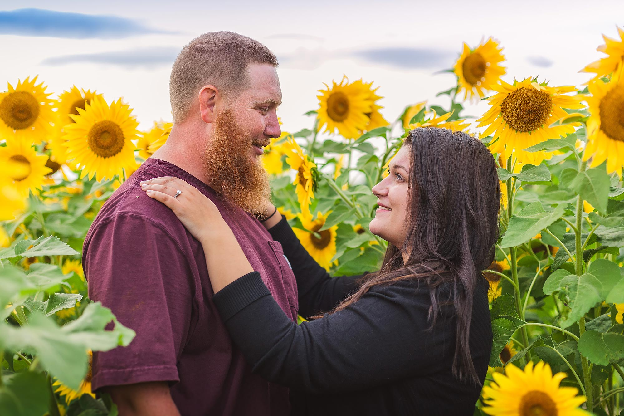 Boston Farm Engagement | Stephen Grant Photography