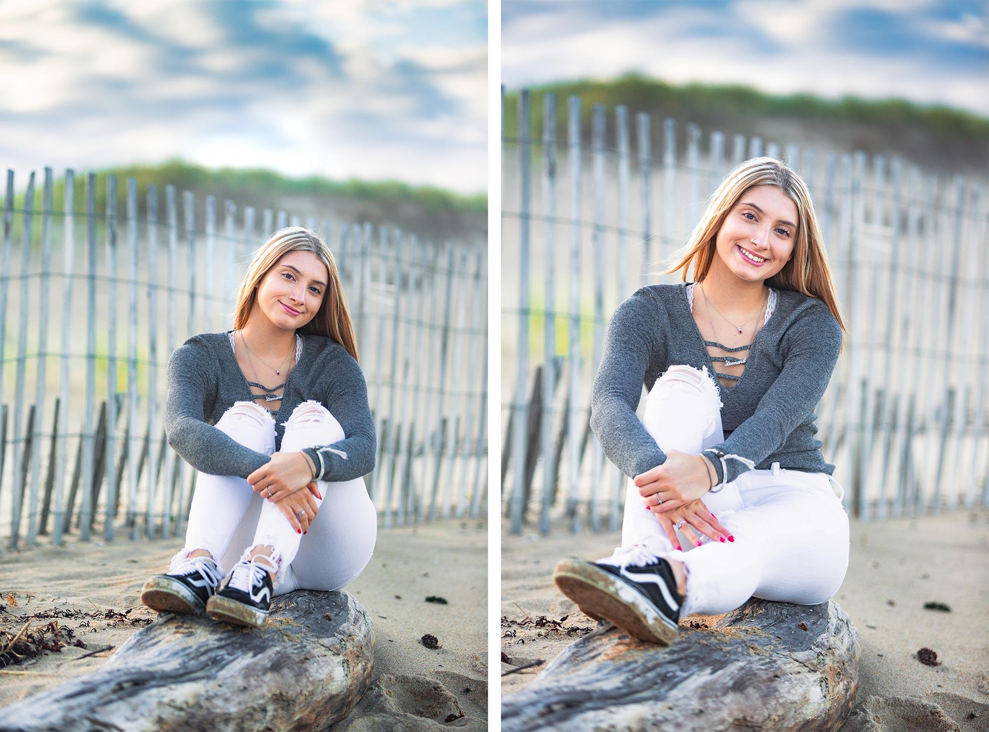 Plum Island Beach Senior Portraits | Stephen Grant Photography