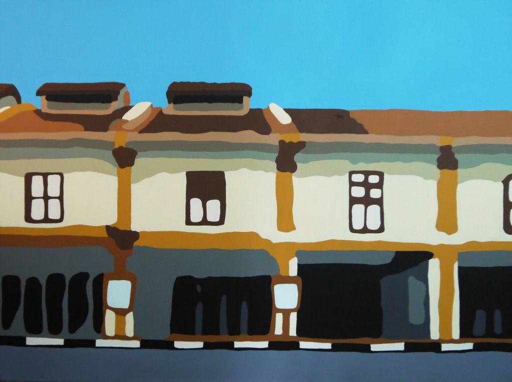Arab Street - Acrylic on Canvas - 76cm by 102cm - 2011 - $2300.jpg