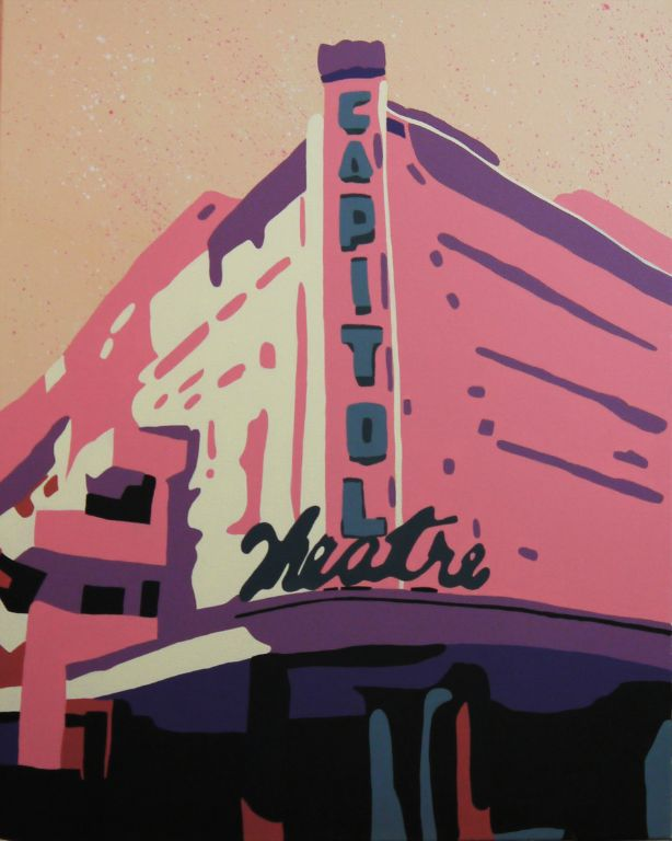 Capitol Pink - Acrylic on Canvas - 76cm by 61cm - 2011 - $1800.jpg