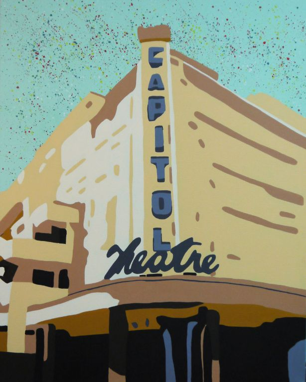 Capitol Theatre - Acrylic on Canvas - 76cm by 61cm - 2011 - $1800.jpg