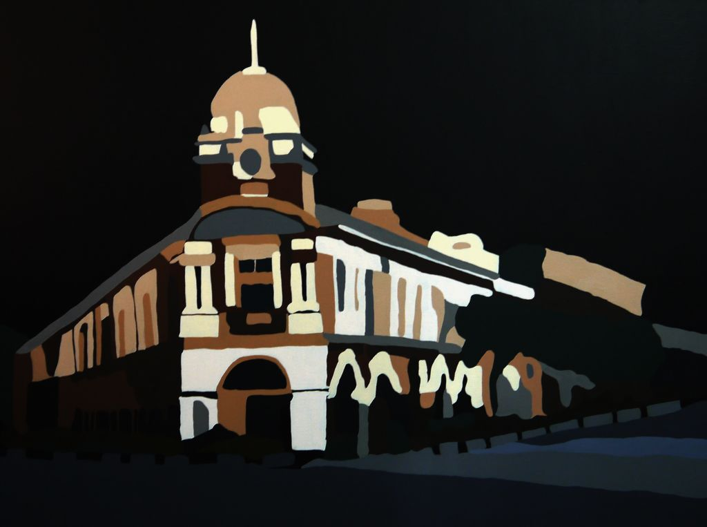 Jinrickshaw - Acrylic on Canvas - 76cm by 102cm - 2011 - $2300.jpg