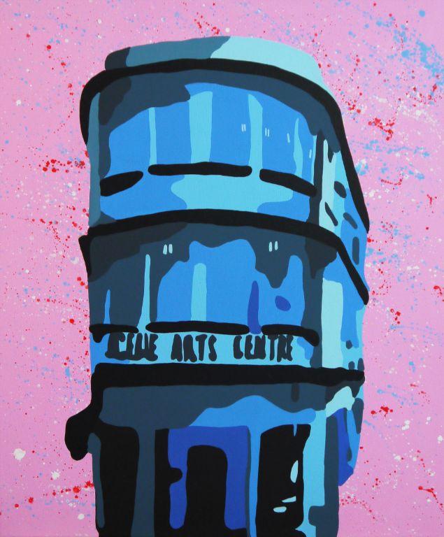 Selegie Blue - Acrylic on Canvas - 60cm by 50cm - 2011 - $1500.jpg