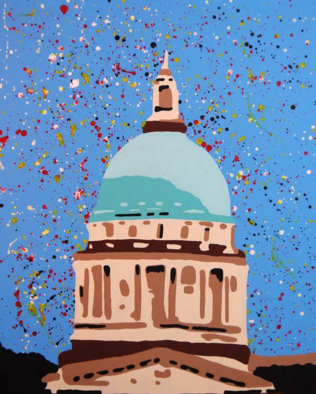 Supreme Court - Acrylic on Canvas - 76cm by 61cm - 2011 - $1800.jpg
