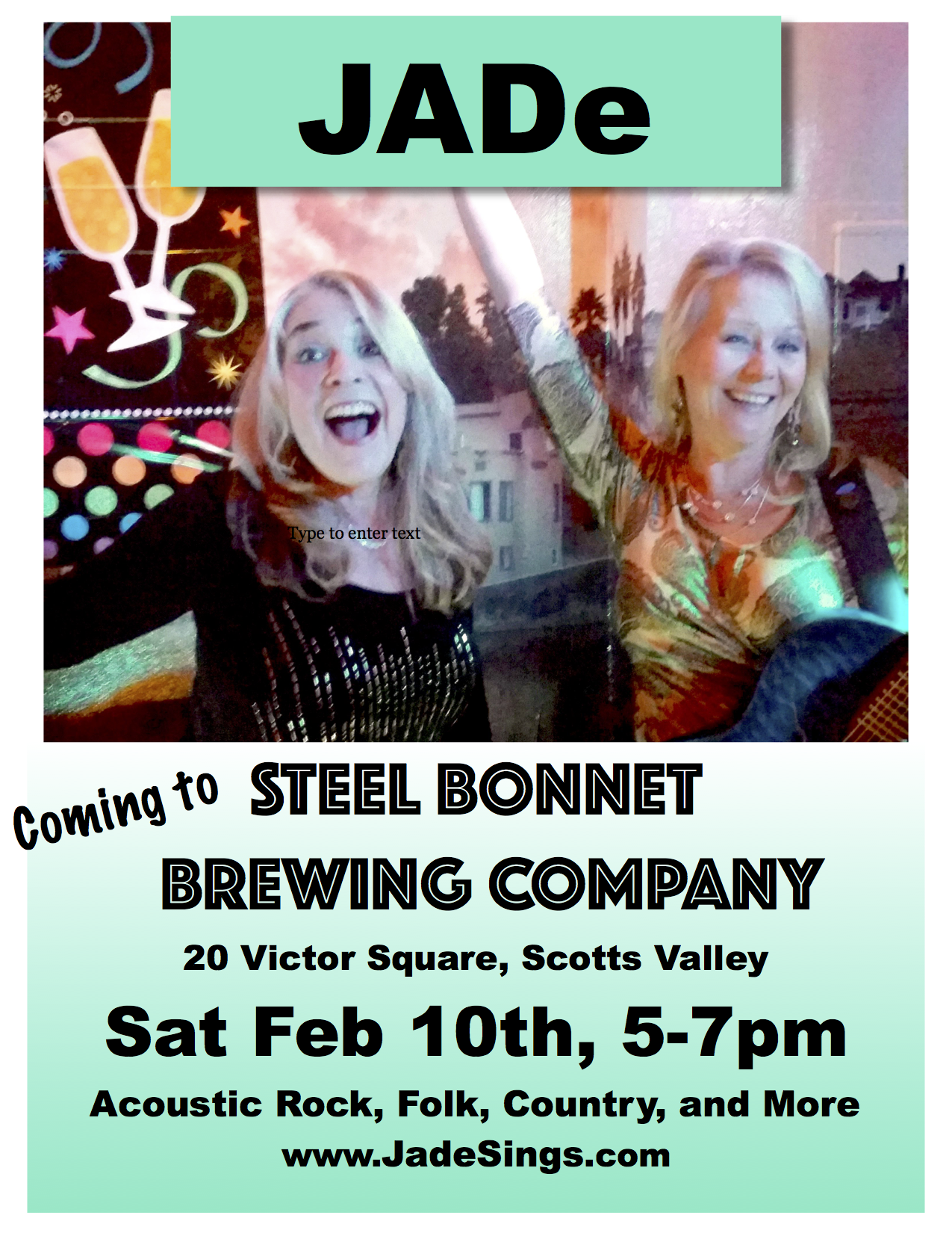 JADe Poster Steel Bonnet Feb 10th.png